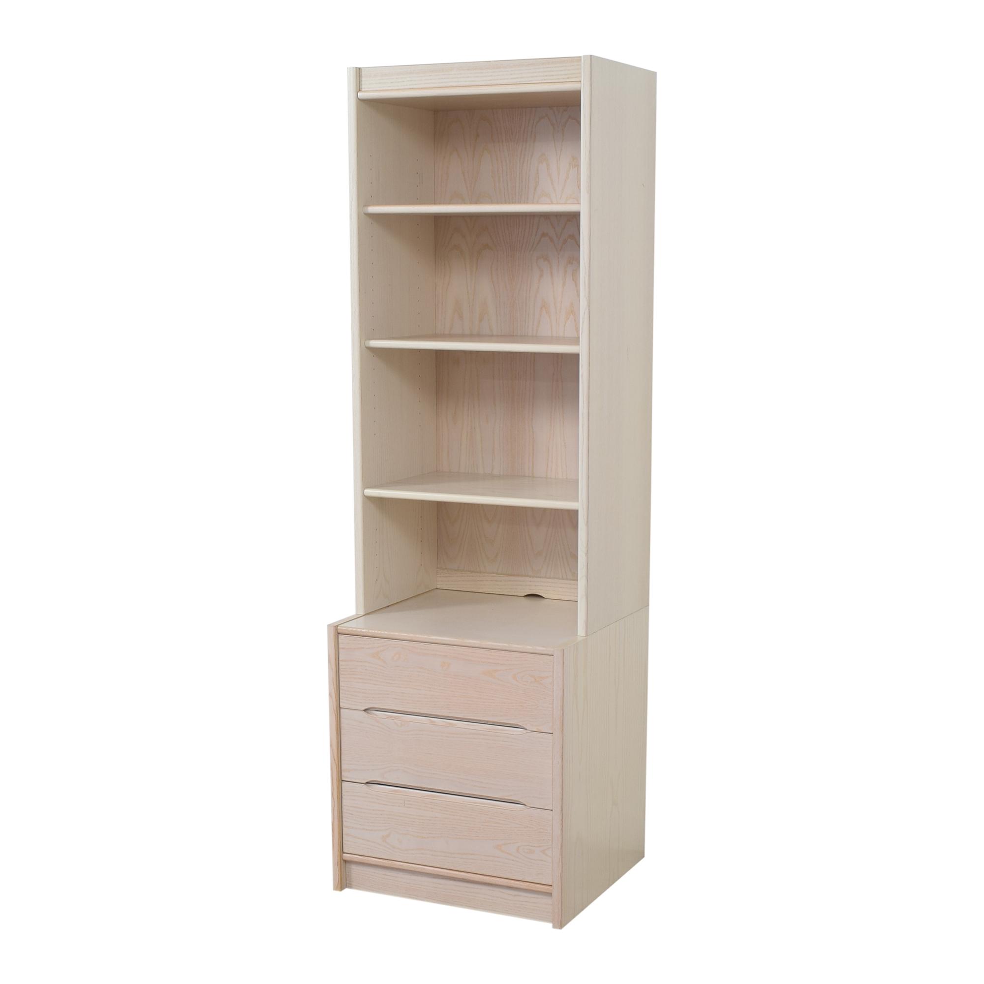 Door Store Door Store Bookcase with Three Drawers second hand