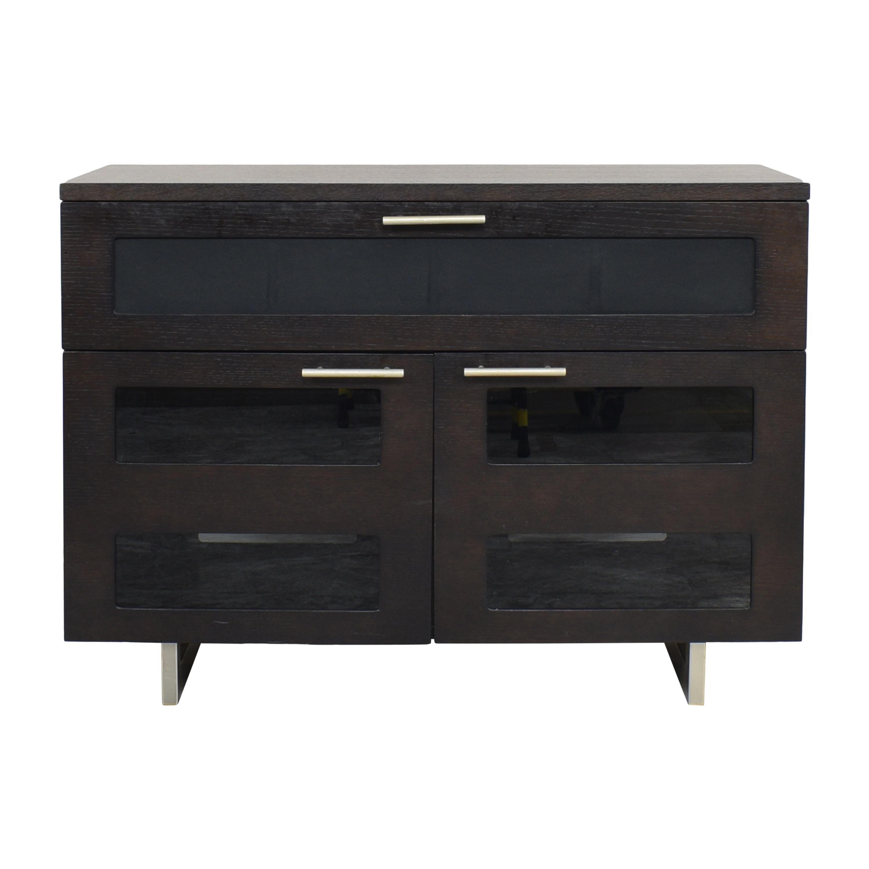 BDI Furniture BDI Furniture Avion Media Cabinet dimensions