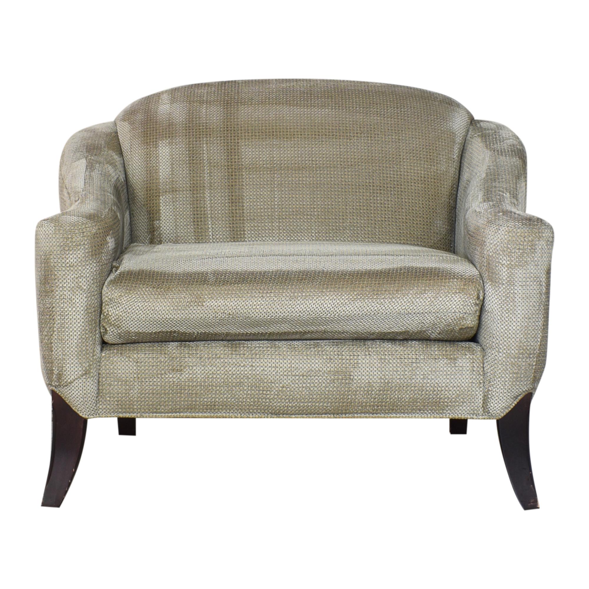 Kravet Kravet Transitional Chair and a Half pa