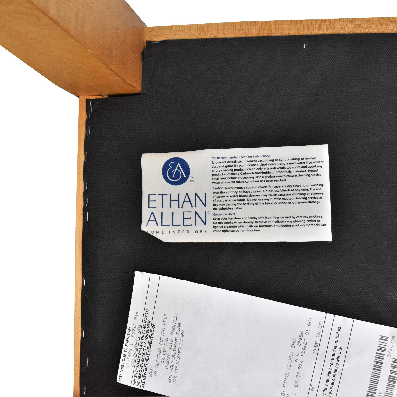 Ethan Allen Ethan Allen Contemporary Upholstered Bench nj