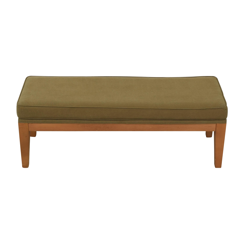 buy Ethan Allen Contemporary Upholstered Bench Ethan Allen