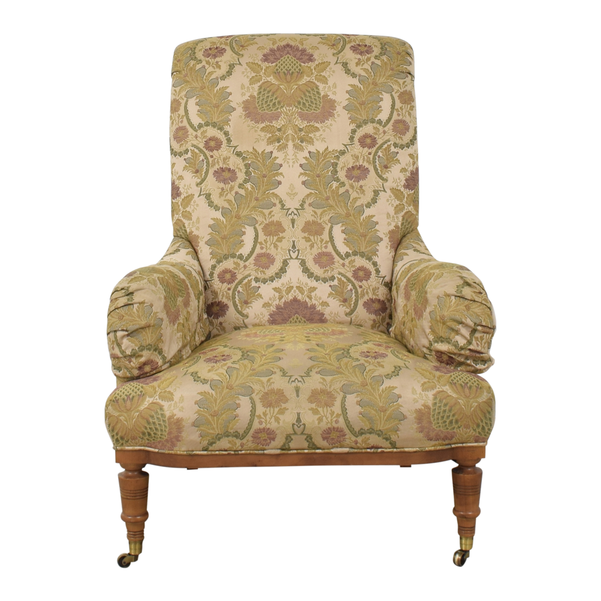 Domain Home Domain Home French Provincial Wingback Armchair used