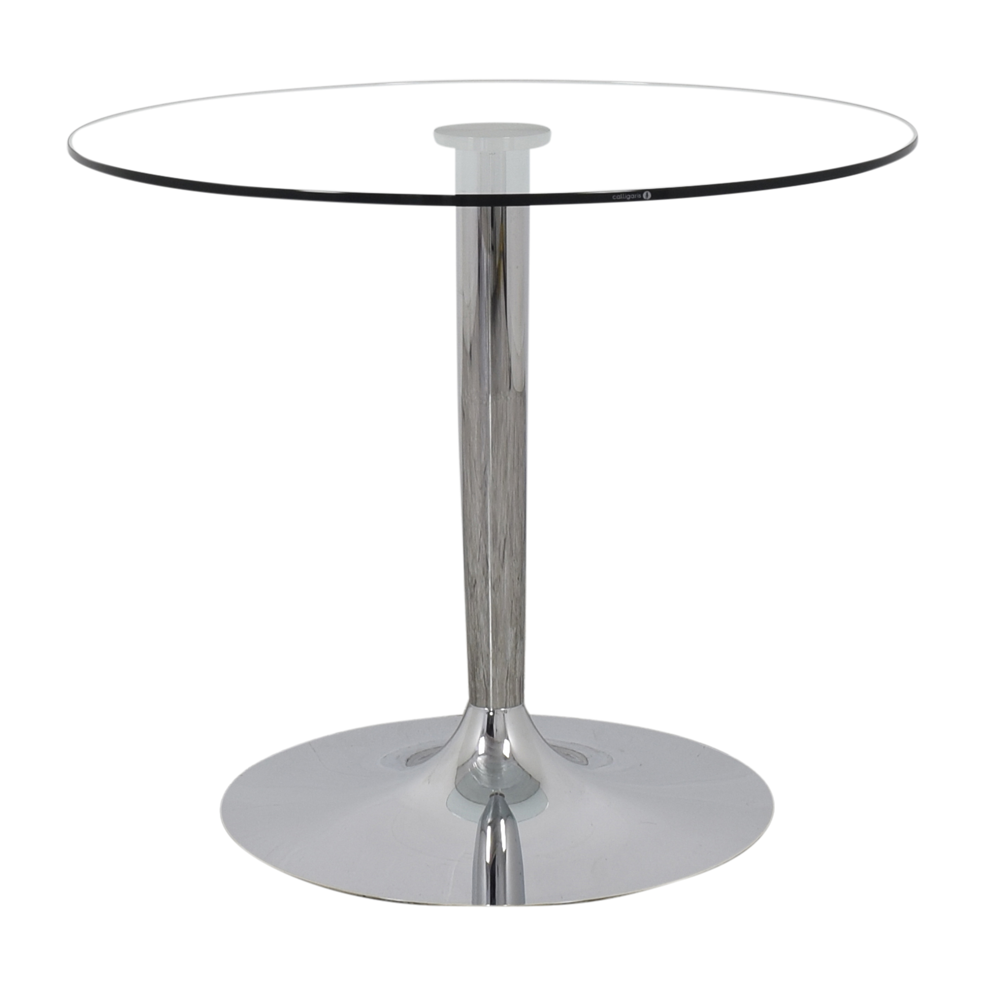 buy Calligaris Planet Pedestal Dining Table Calligaris