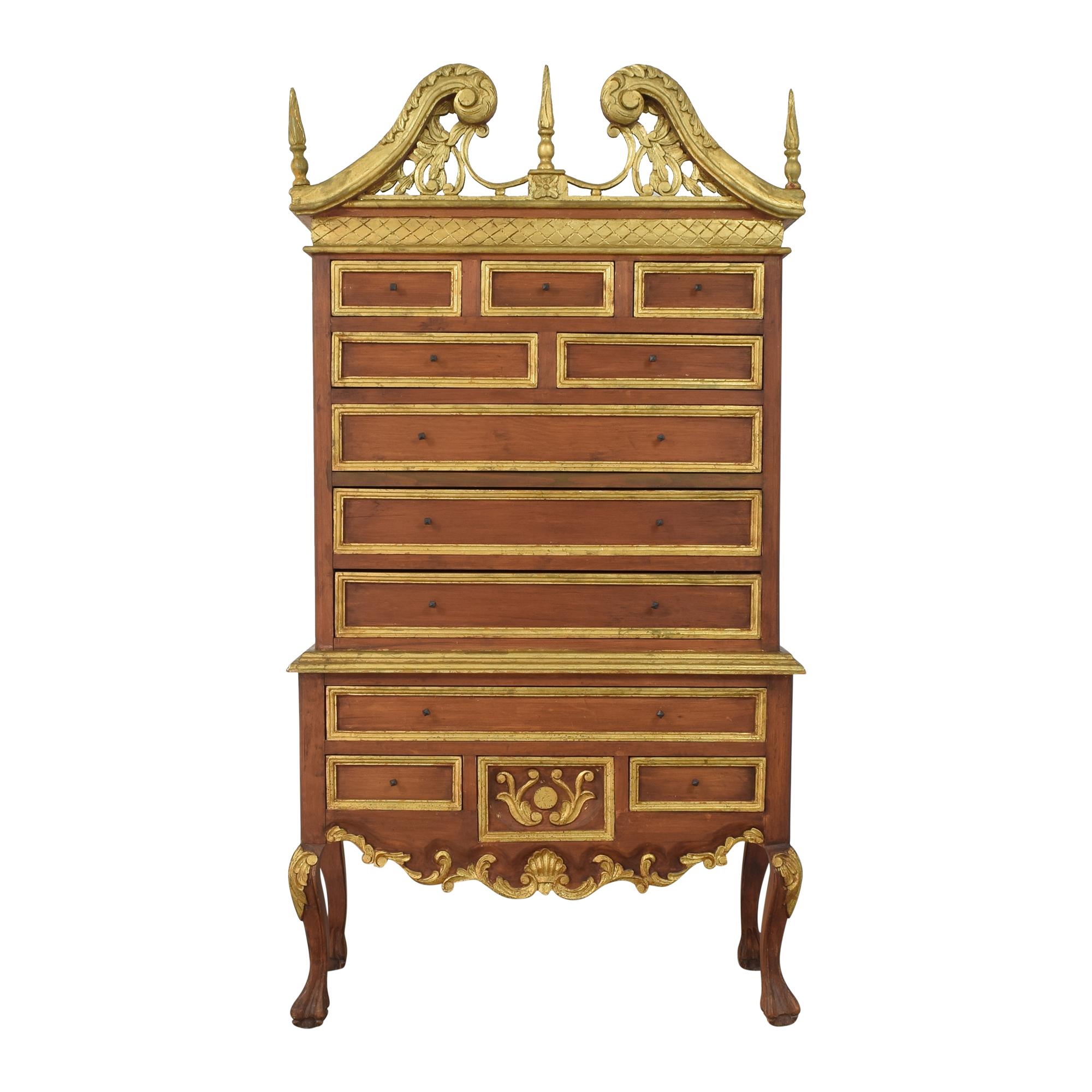 Vintage-Style Highboy Chest on sale