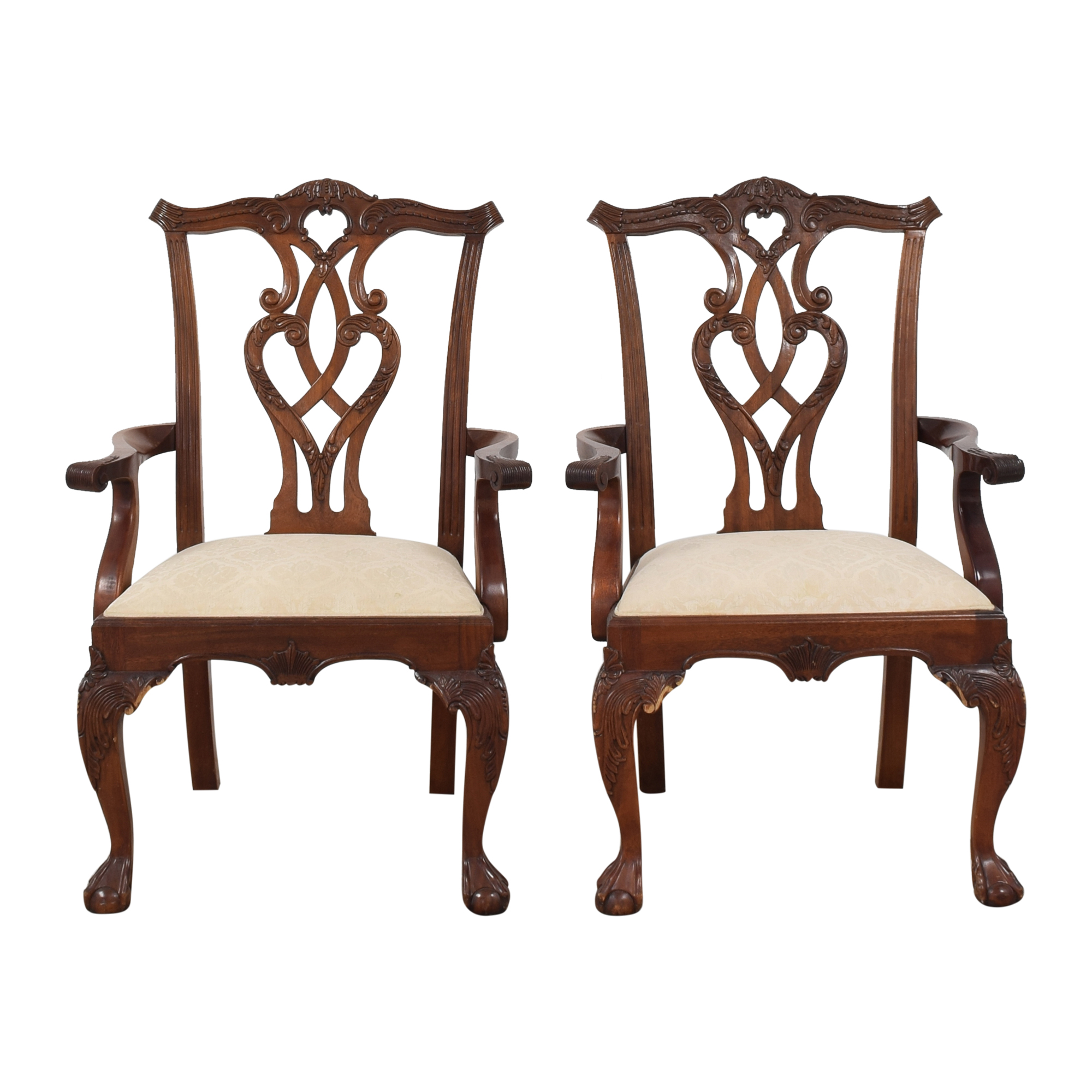 Stanley Furniture Stanley Furniture Stoneleigh Collection Dining Arm Chairs discount