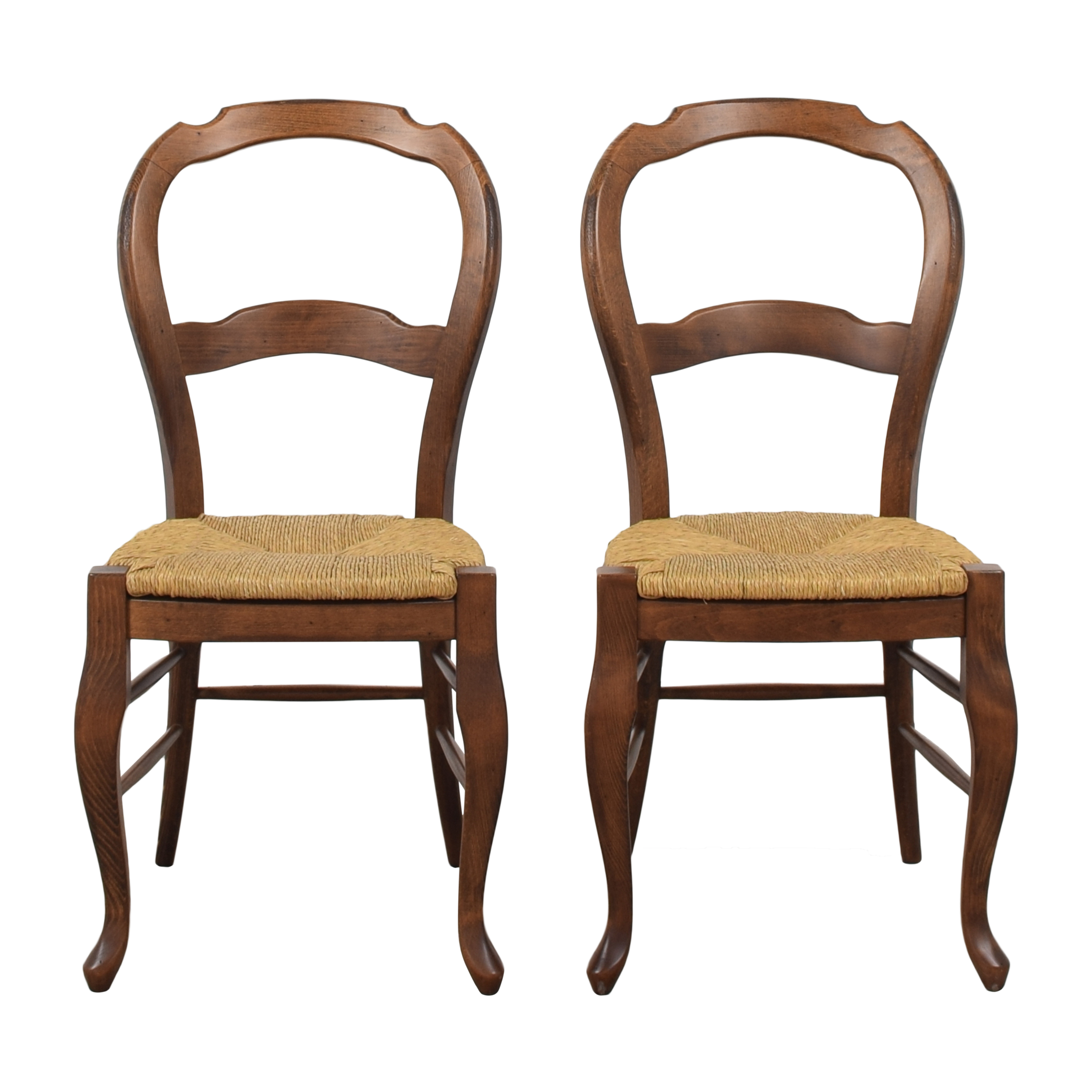 Pottery Barn Pottery Barn French Country Dining Side Chairs second hand