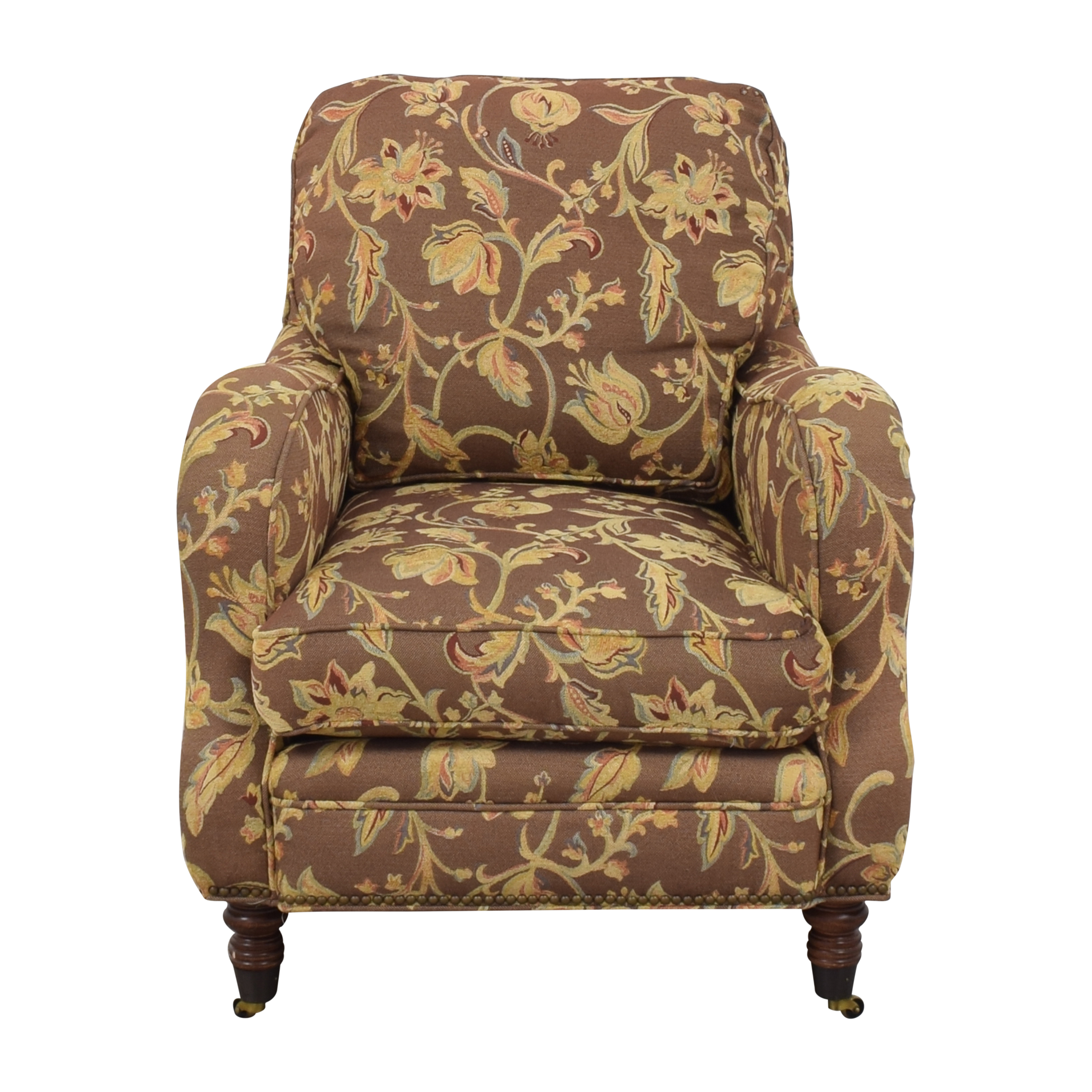 Sam Moore Sam Moore Accent Chair with Ottoman nj