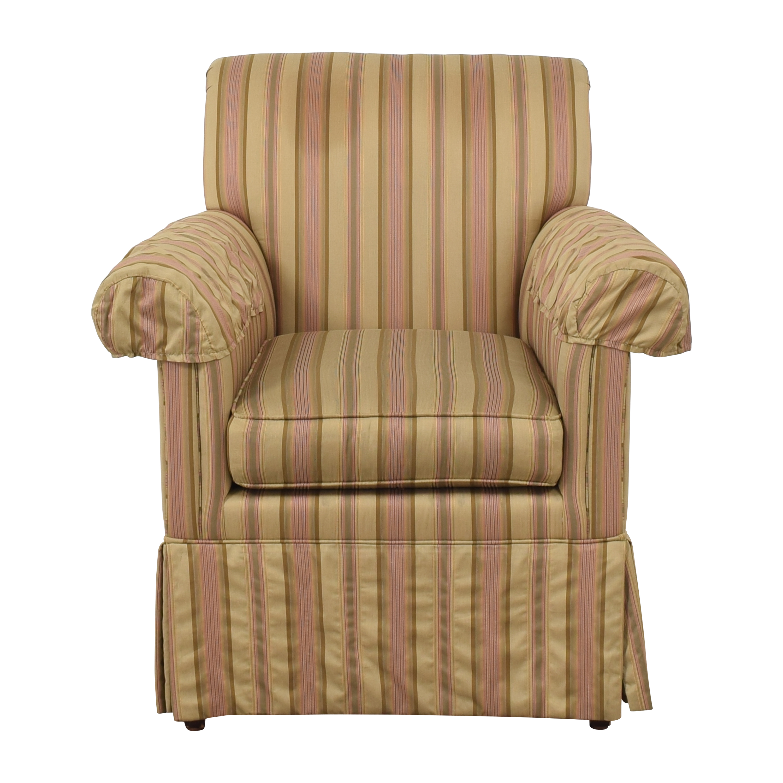 Ethan Allen Ethan Allen Striped Accent Chair ma