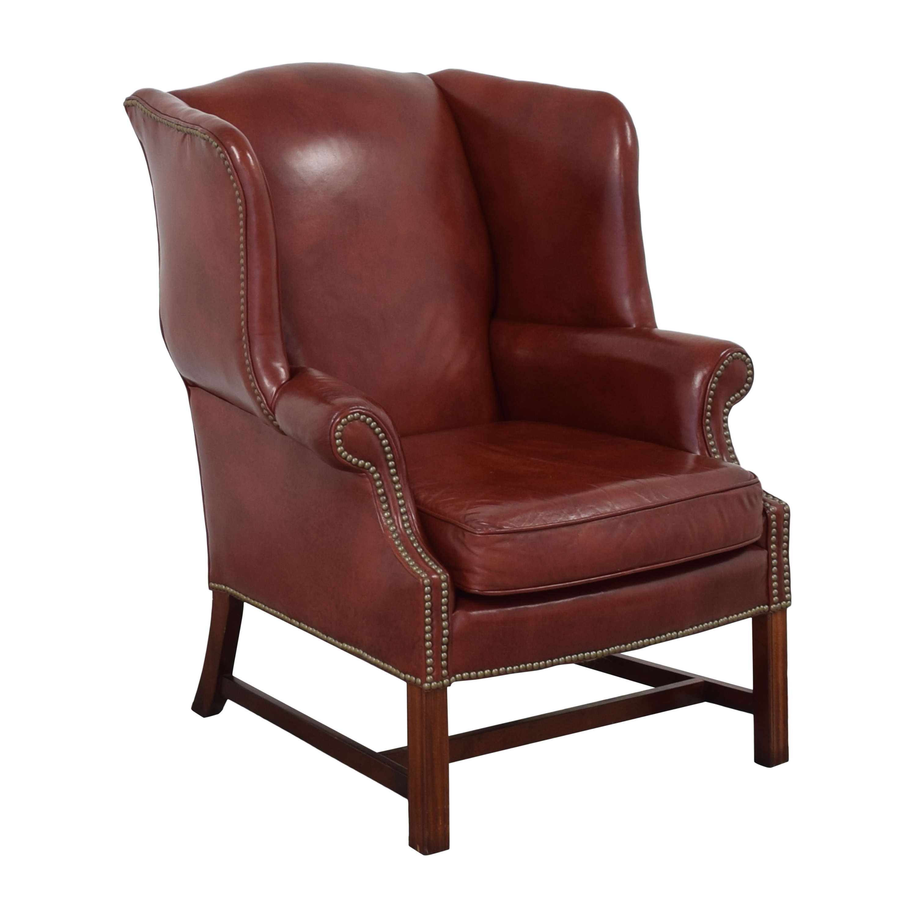 Classic Leather Classic Leather George III Wing Chair nj