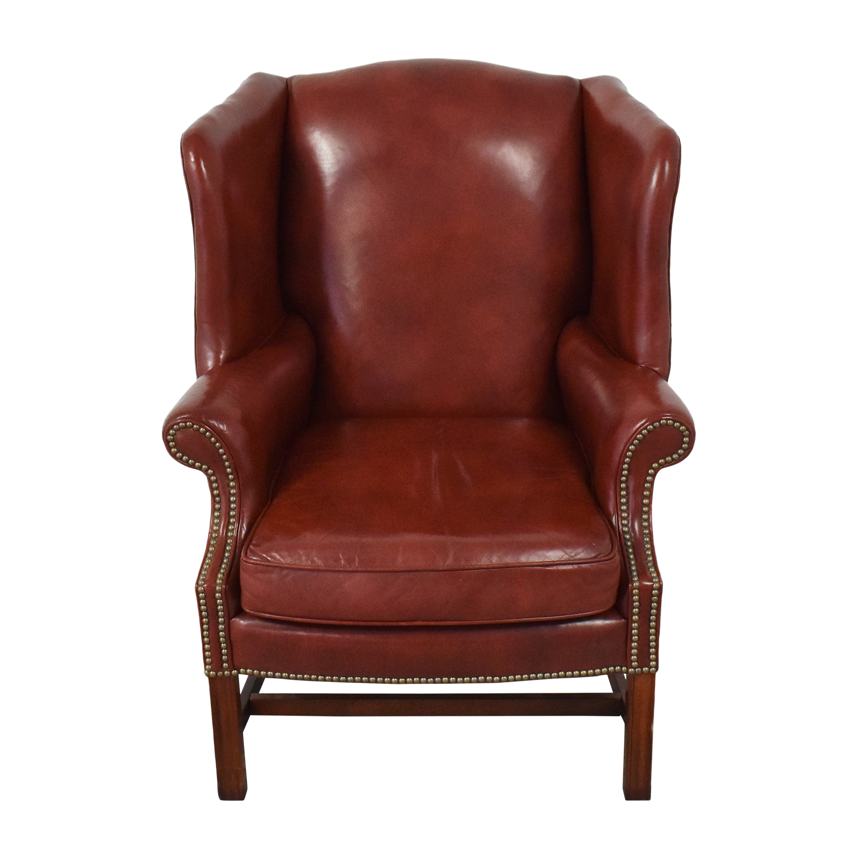Classic Leather Classic Leather George III Wing Chair