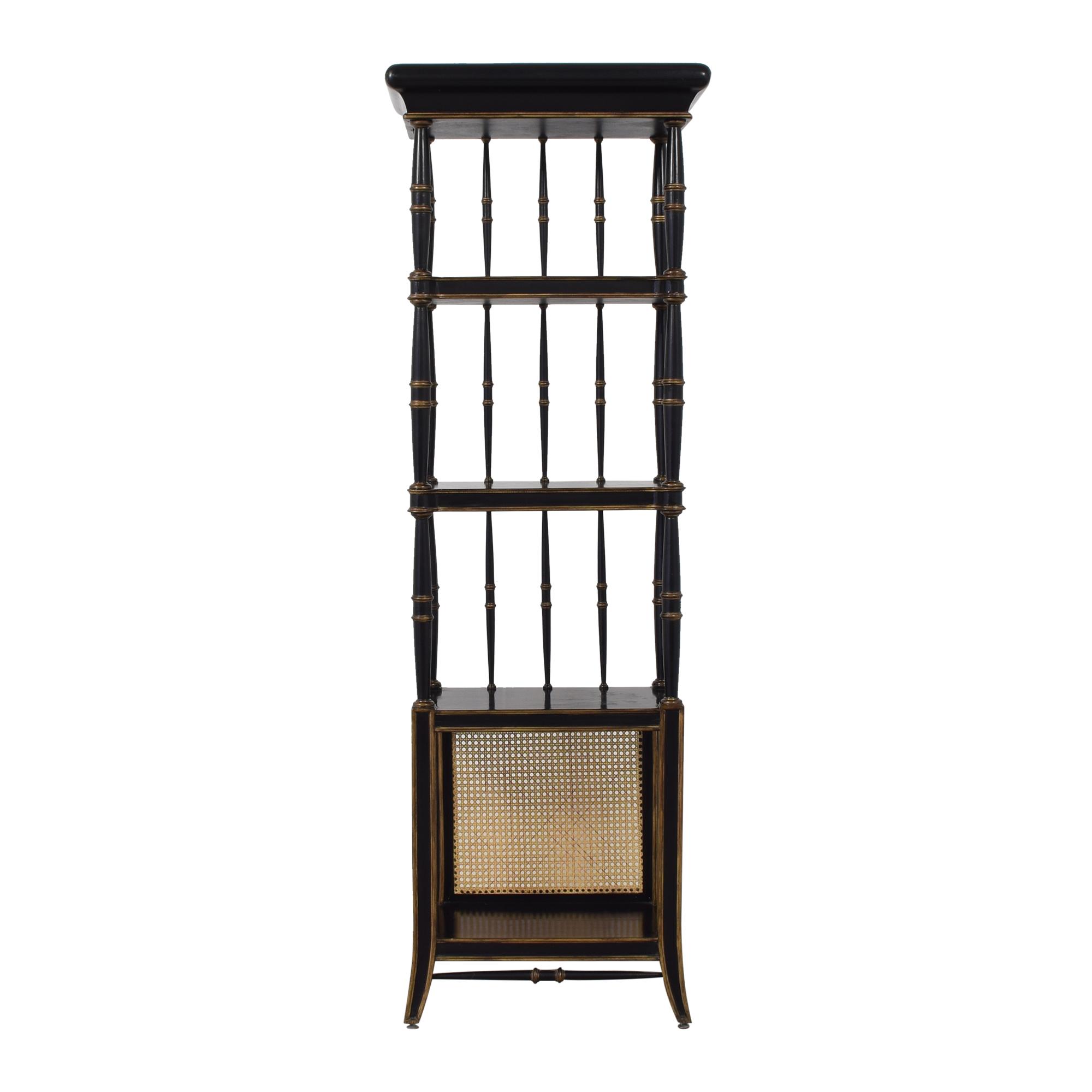 Vintage-Style Etagere Bookcase pa