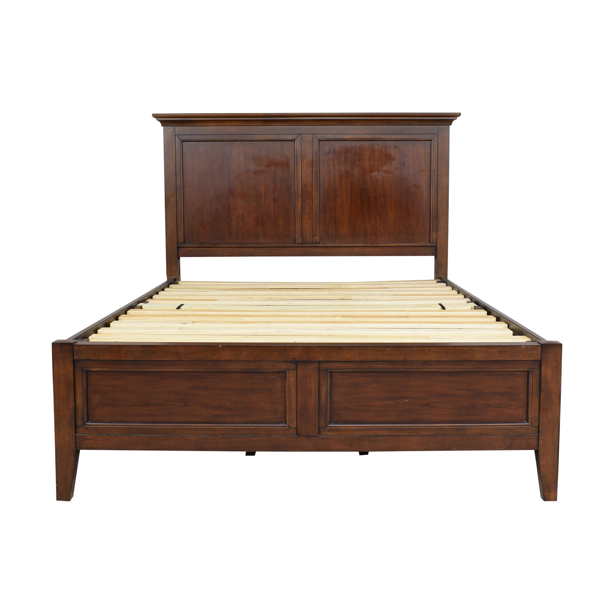 Macy's Macy's Matteo Storage Platform Queen Bed Beds