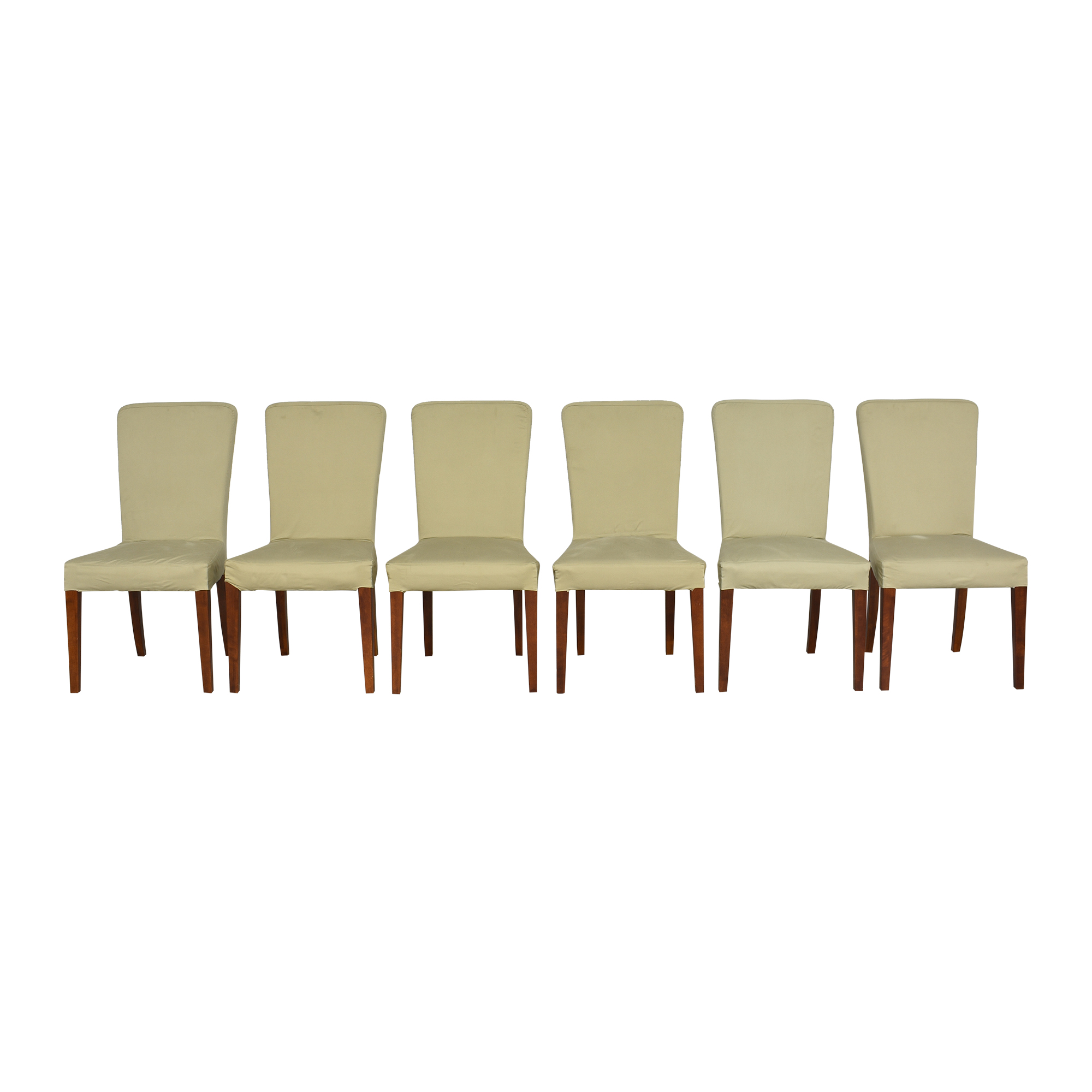 Pottery Barn Pottery Barn Megan Slipcovered Dining Side Chairs Dining Chairs