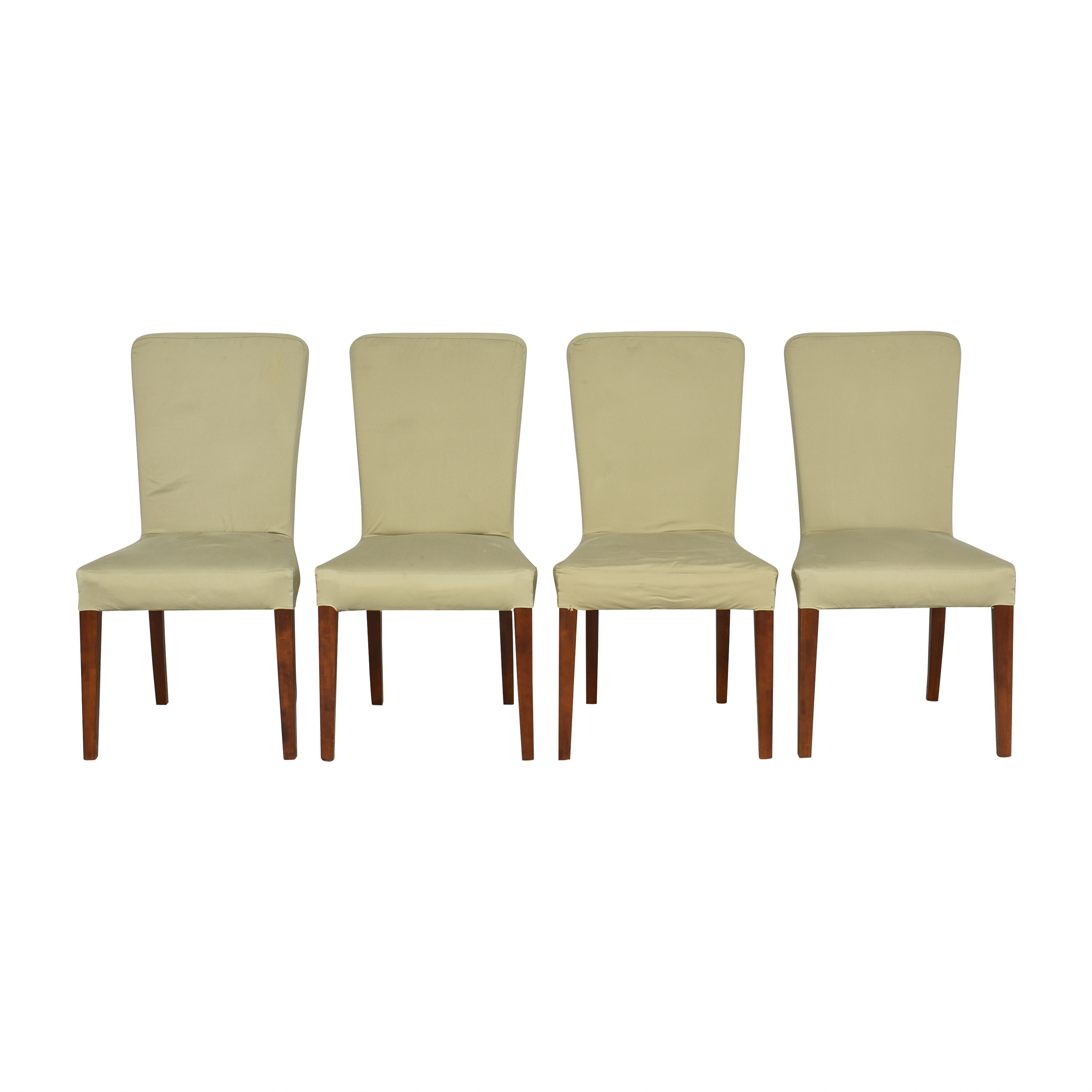 Pottery Barn Megan Slipcovered Dining Side Chairs / Chairs