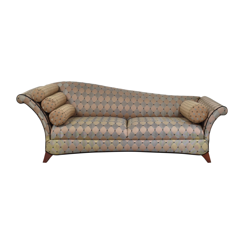 Kincaid Furniture Kincaid Flared Arm Modern Sofa nyc