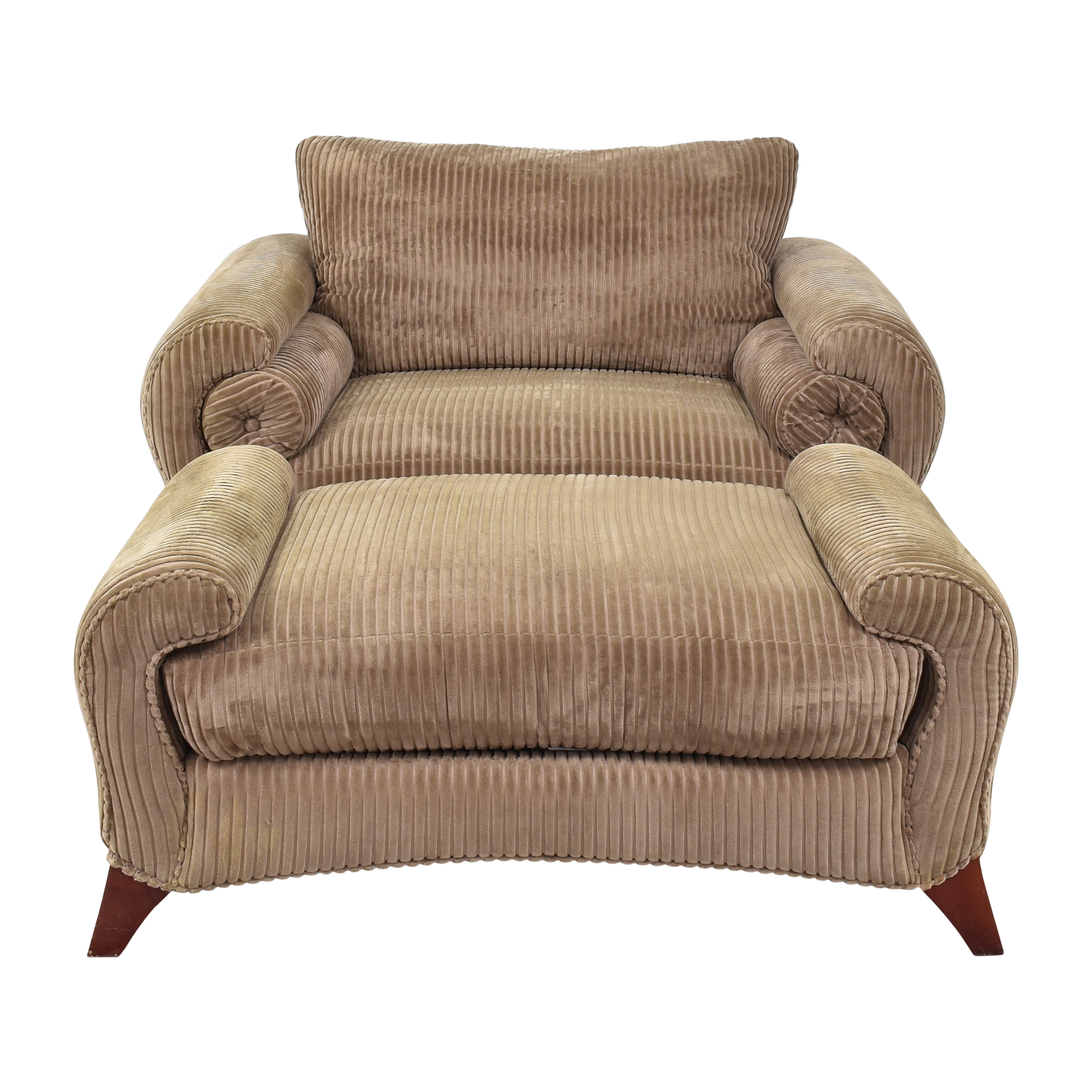 Weiman Weiman Club Chair and Ottoman second hand