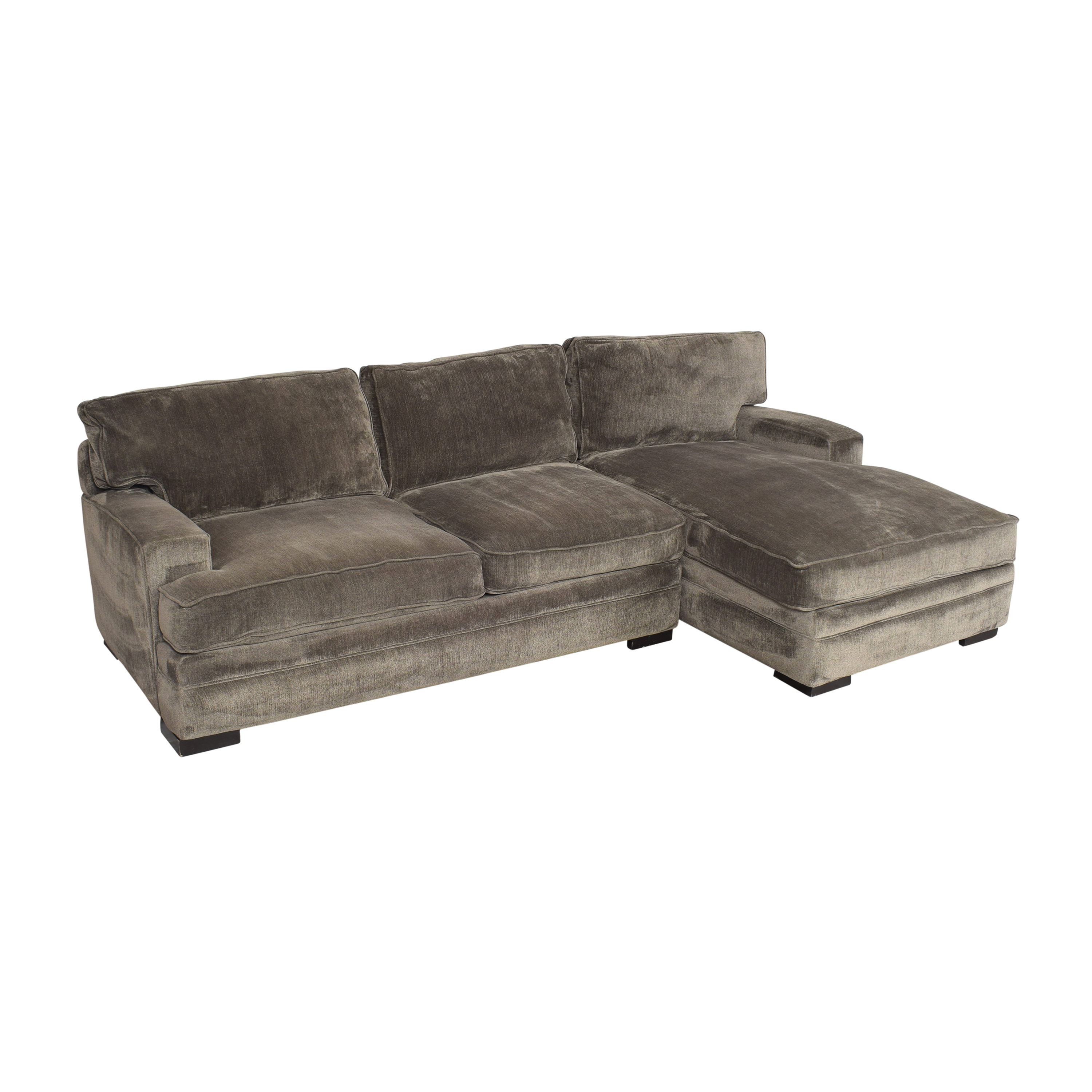Macy's Macy's Rhyder Two Piece Sectional Sofa nyc