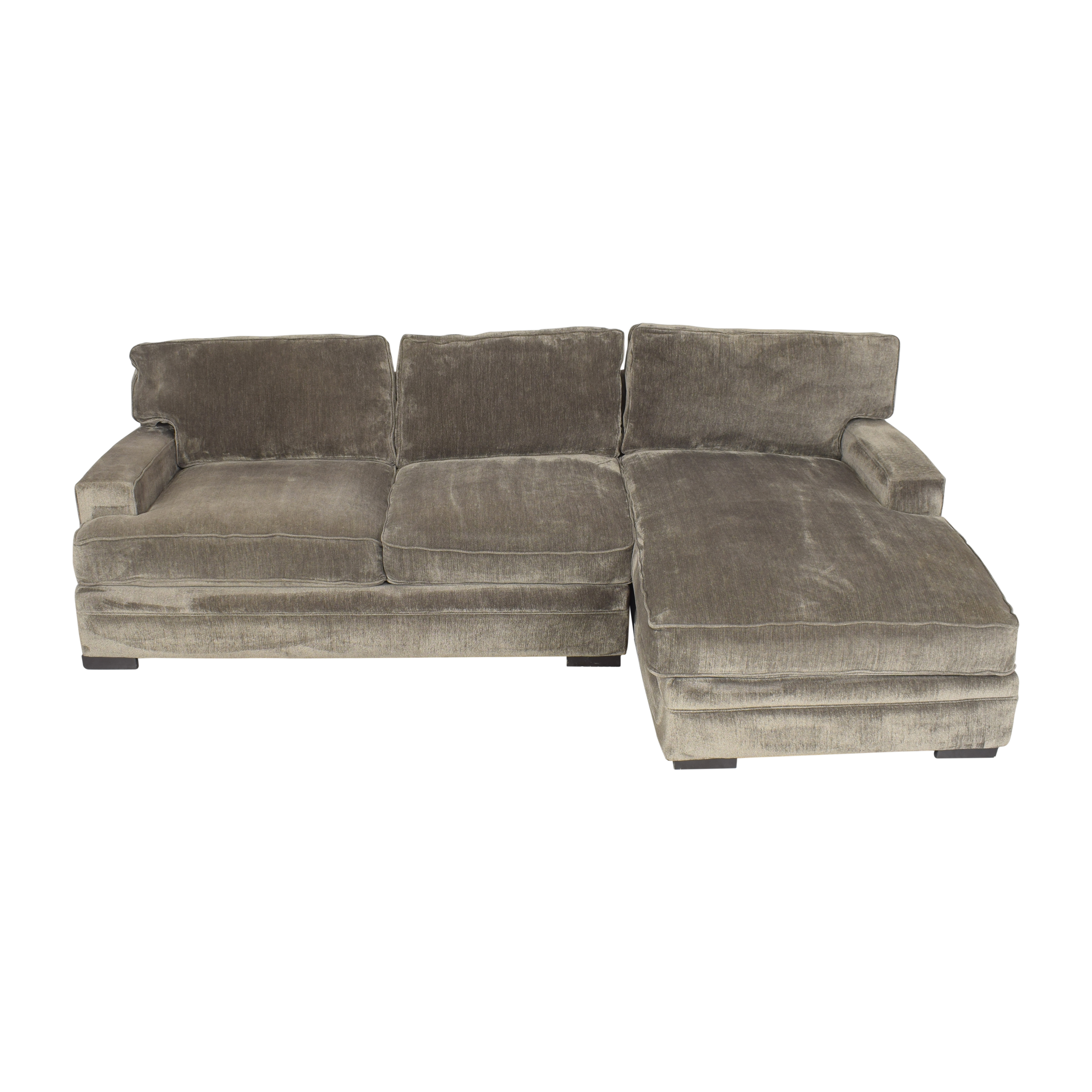 Macy's Rhyder Two Piece Sectional Sofa / Sectionals