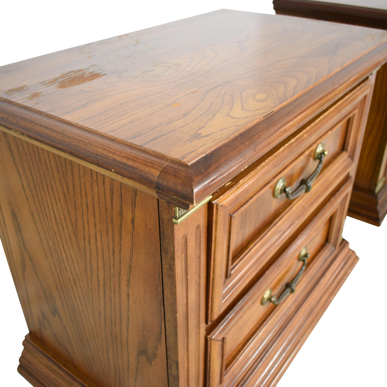 buy Bassett Furniture Bassett Two Drawer Nightstands online