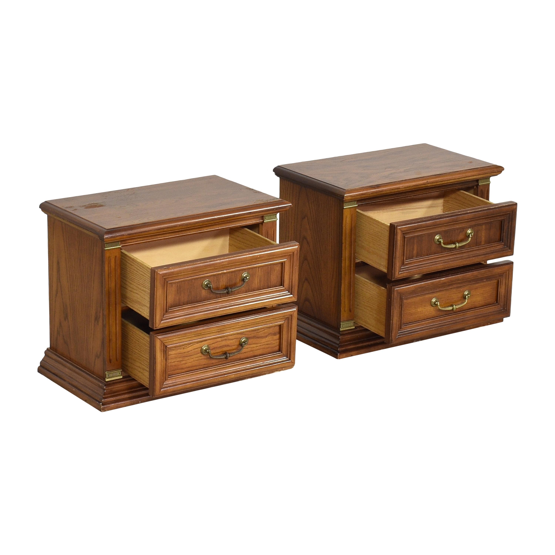 buy Bassett Two Drawer Nightstands Bassett Furniture