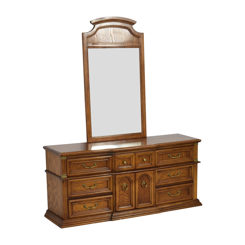 Bassett Furniture Bassett Furniture Dresser with Mirror used