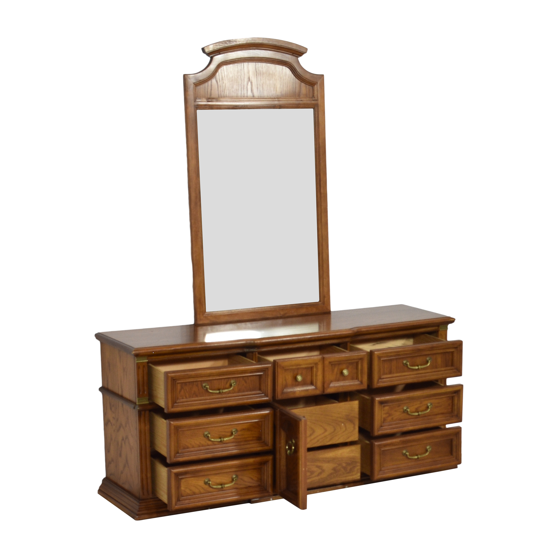 Bassett Furniture Bassett Furniture Dresser with Mirror price
