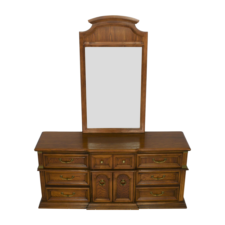 buy Bassett Furniture Dresser with Mirror Bassett Furniture Dressers