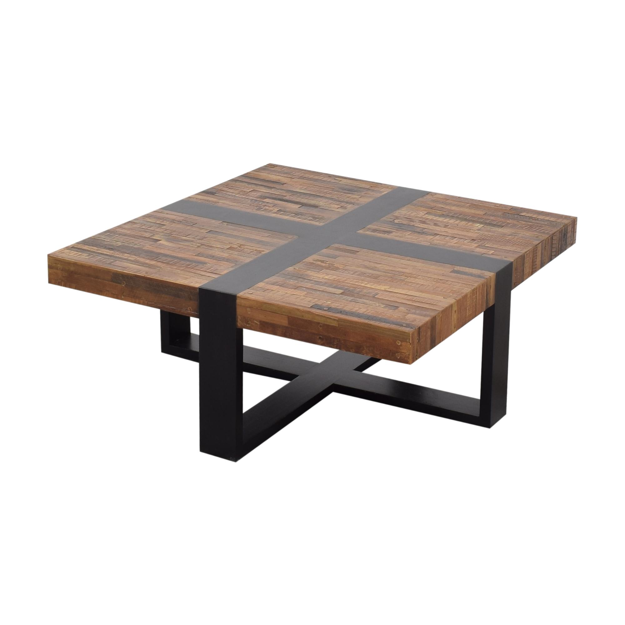 Crate & Barrel Crate & Barrel Seguro Square Coffee Table Tables