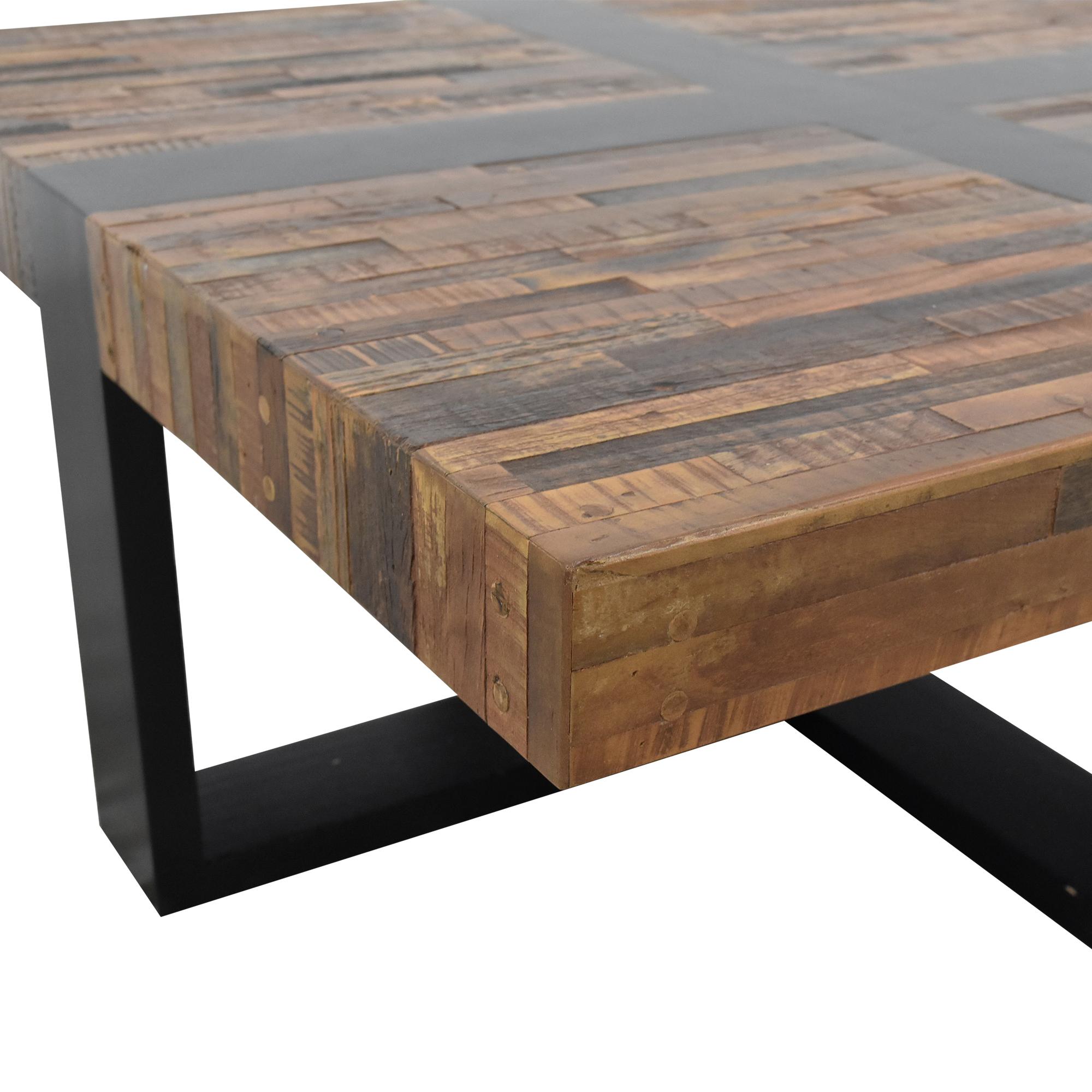 Crate & Barrel Crate & Barrel Seguro Square Coffee Table dimensions