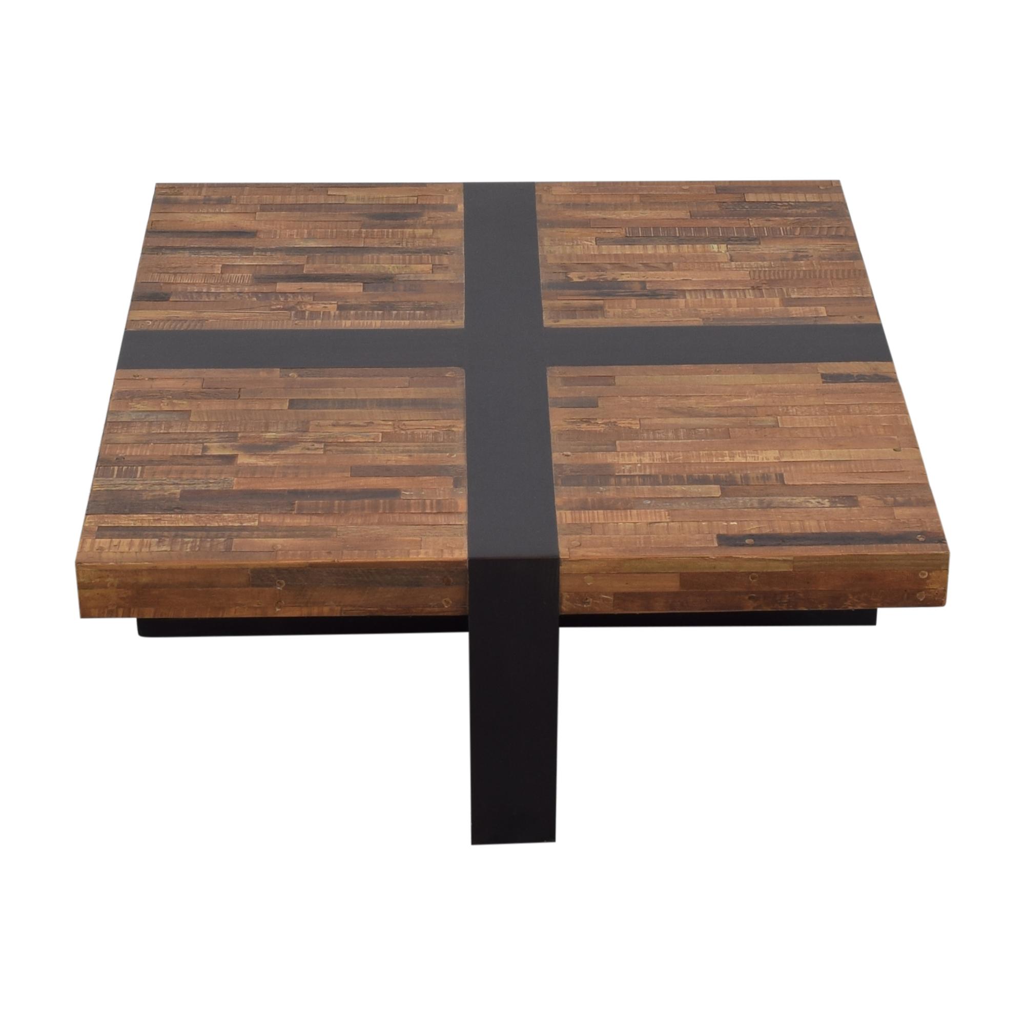 Crate & Barrel Crate & Barrel Seguro Square Coffee Table discount