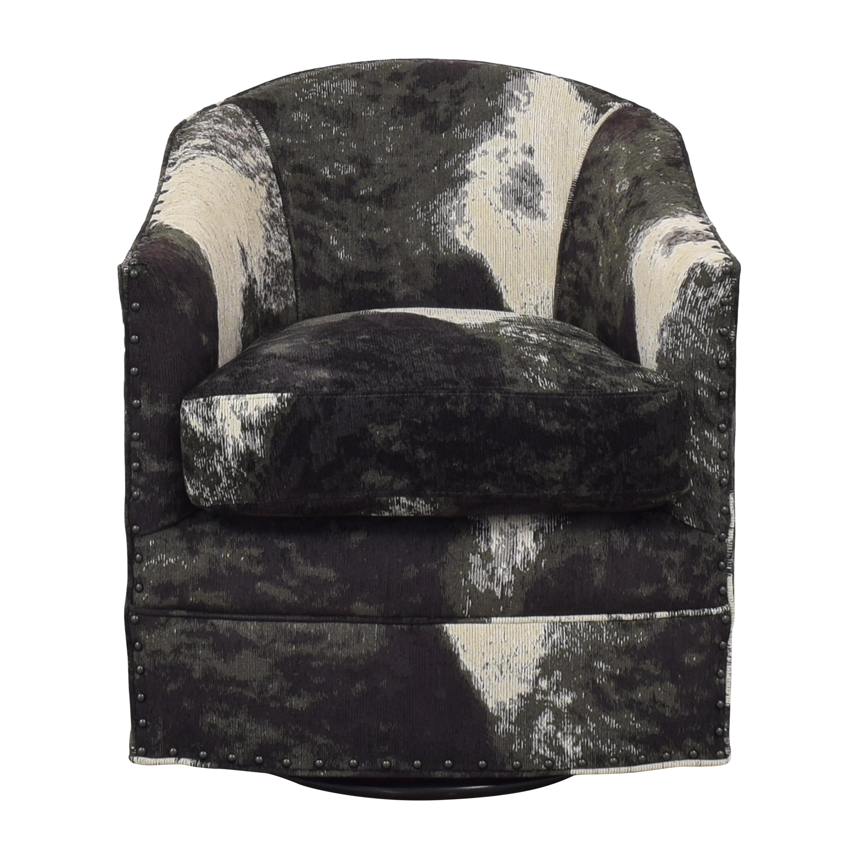 Arhaus Arhaus Giles Upholstered Swivel Chair for sale