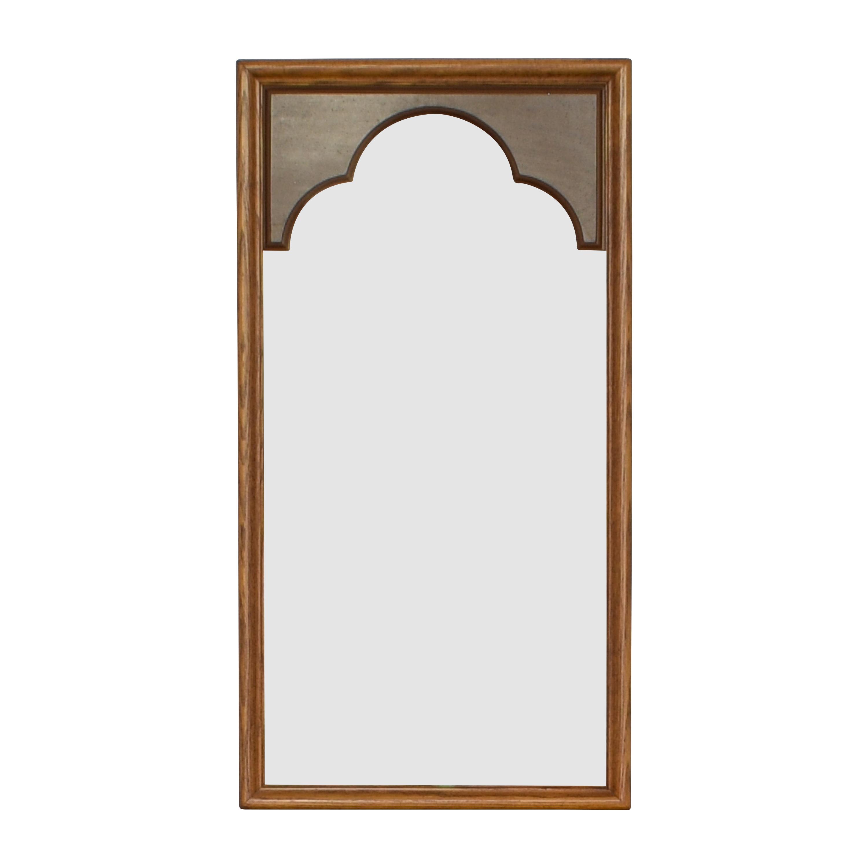Mid-Century Modern Wall Mirror brown