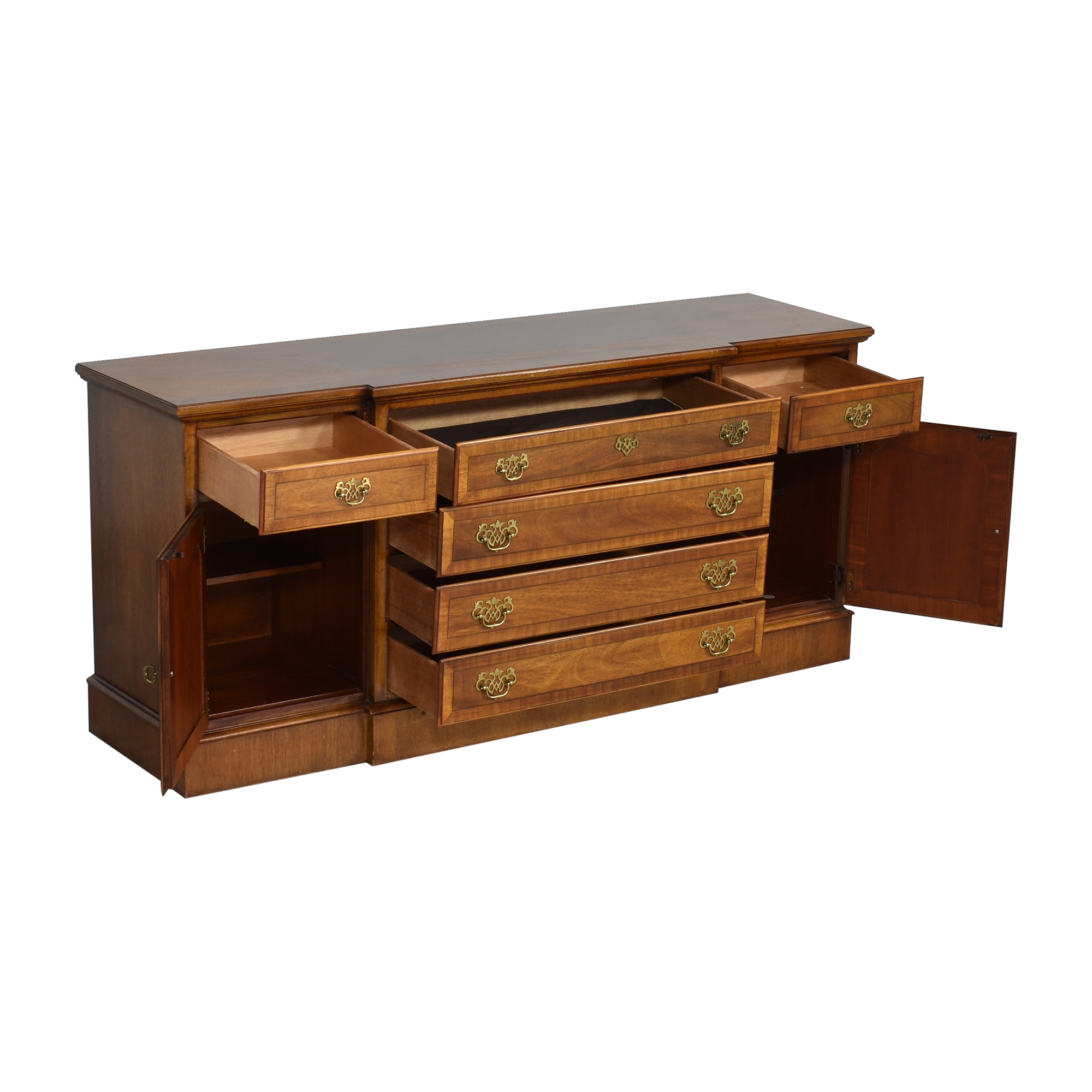 shop Stanley Stoneleigh Collection Six Drawer Buffet Stanley Furniture Cabinets & Sideboards