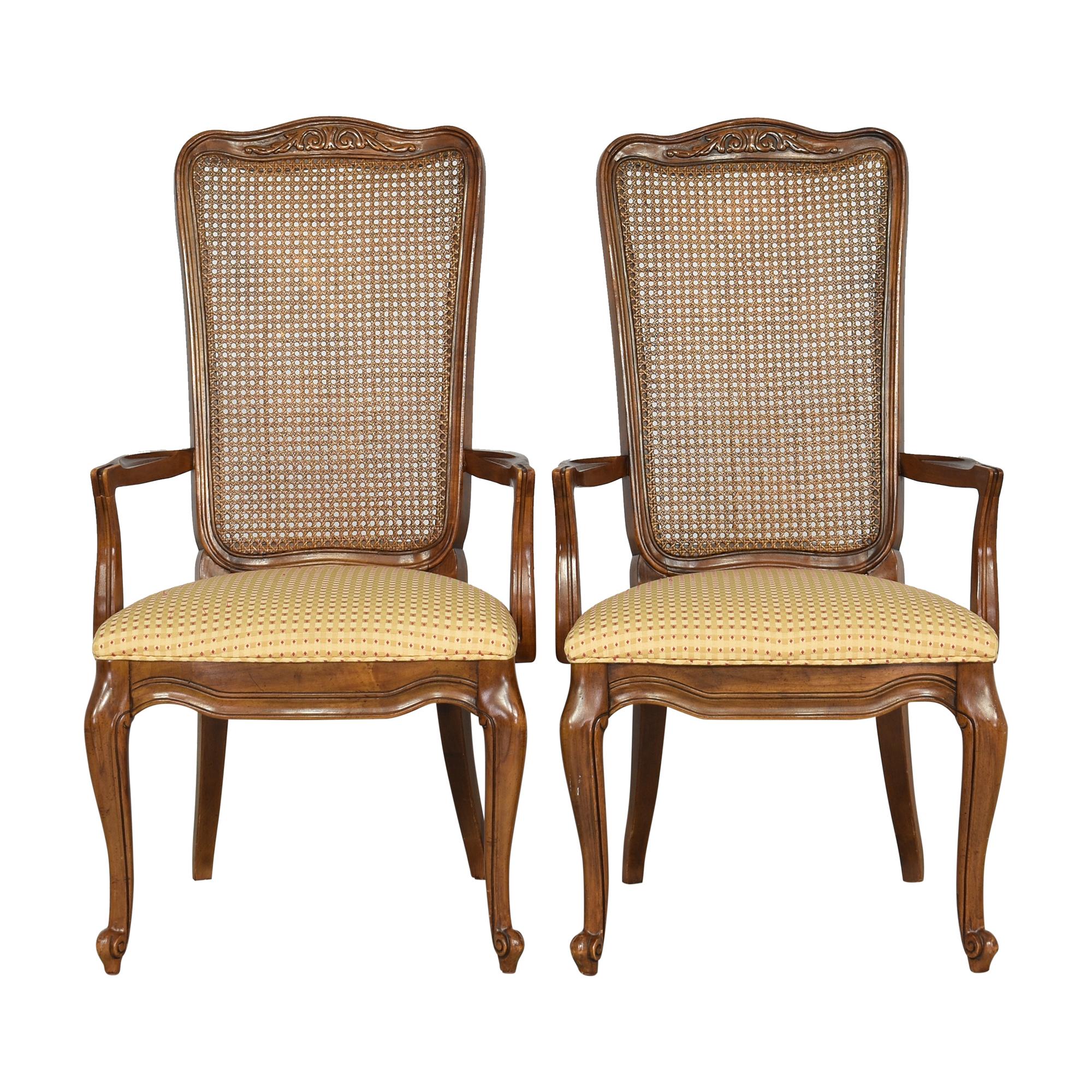 White Fine Furniture Dining Arm Chairs White Fine Furniture