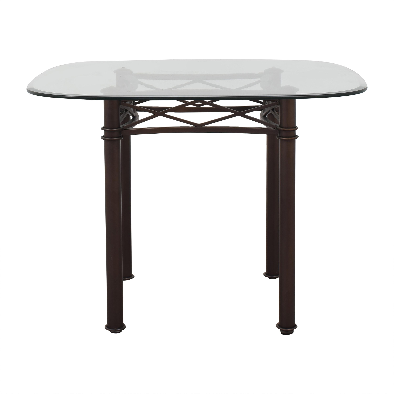 buy  Custom Transparent Dining Table online