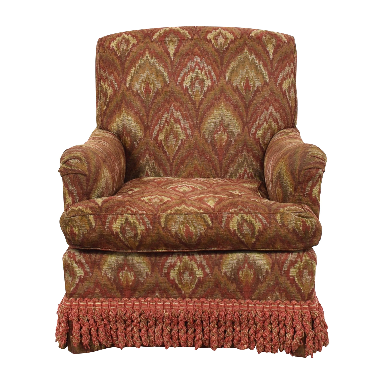 shop Custom Roll Arm Fringe Chair