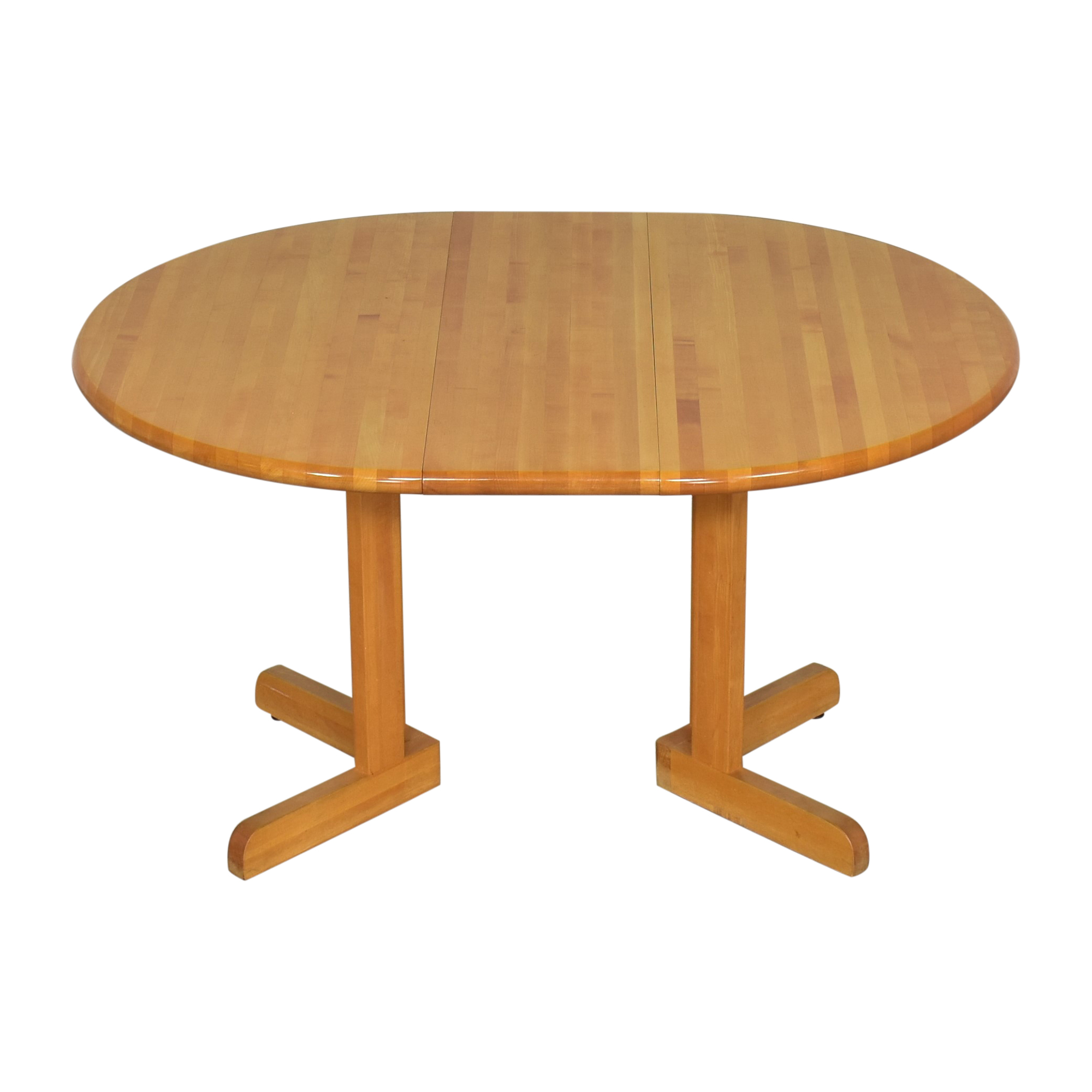 shop Walter of Wabash Round Extendable Dining Table Walter of Wabash Tables