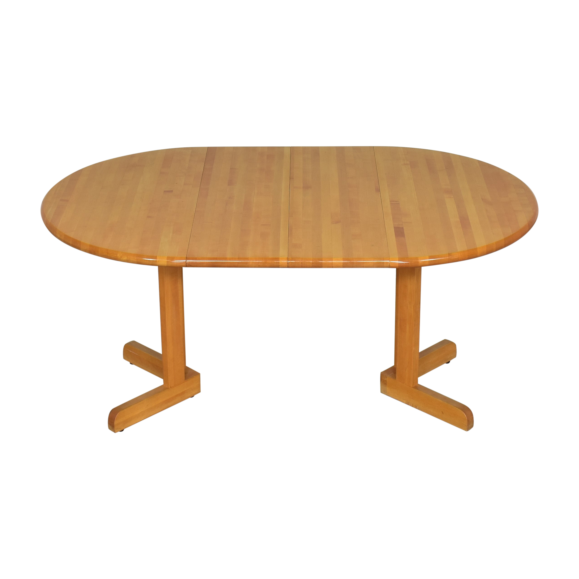 Walter of Wabash Walter of Wabash Round Extendable Dining Table