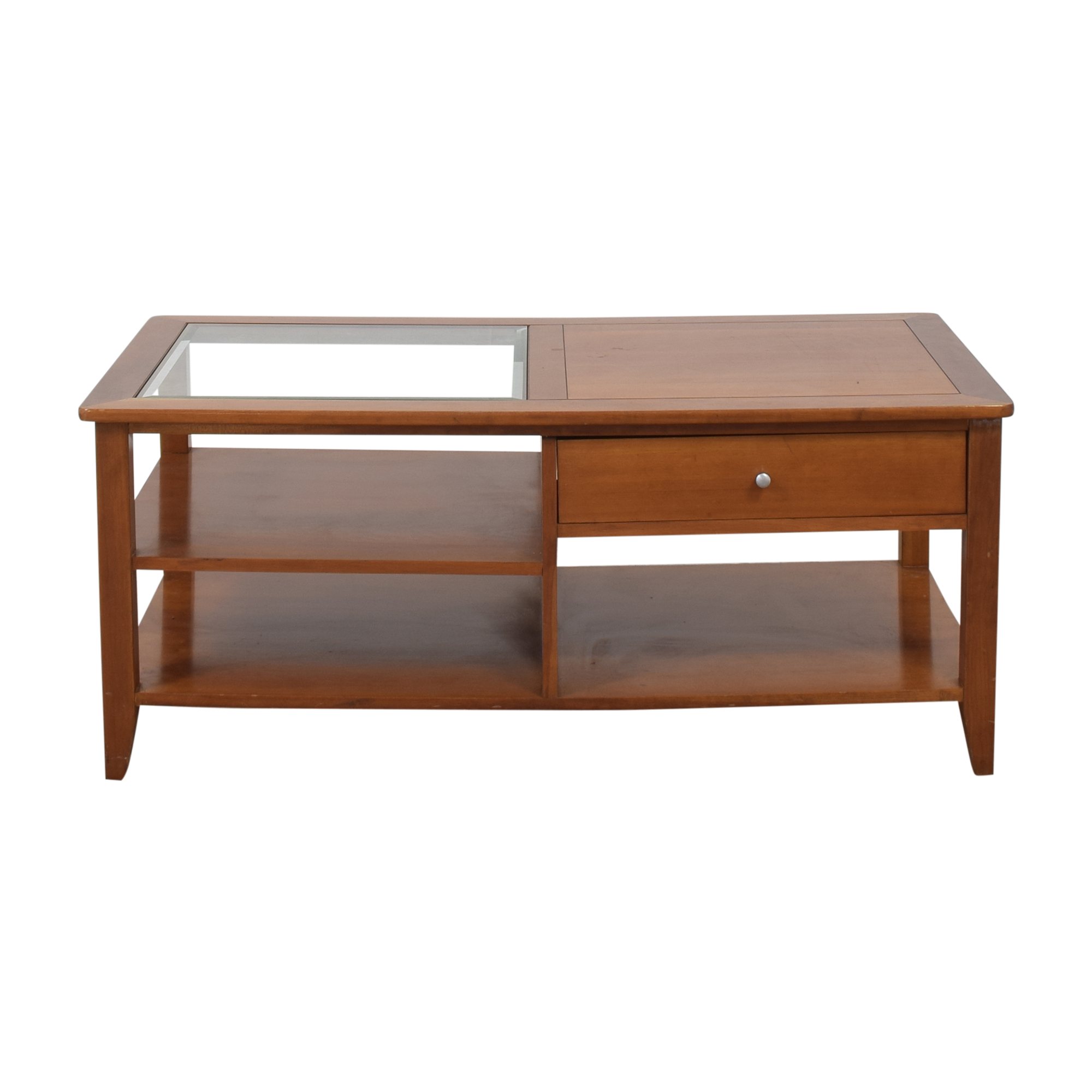 buy Hammary Furniture Hammary Furniture Tri-Level Coffee Table with Drawer online
