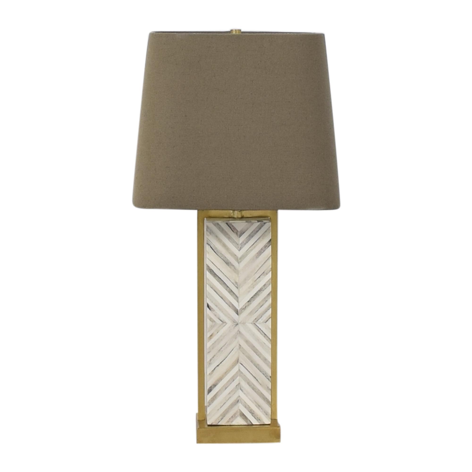 West Elm West Elm Chevron Deco Table Lamp nyc