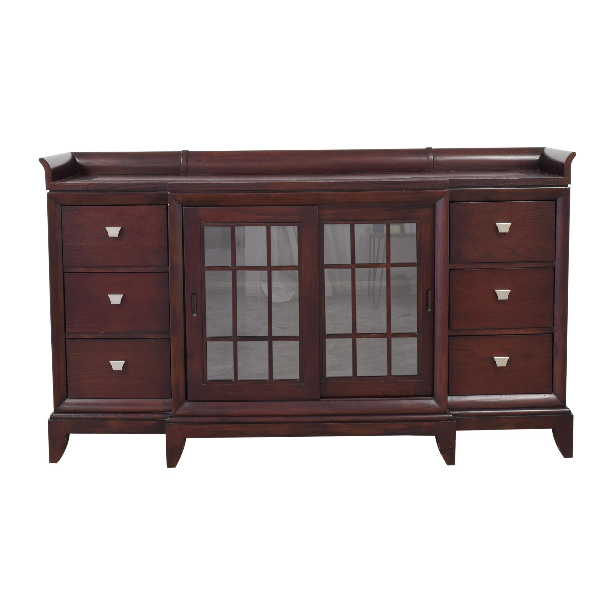 shop Six Drawer Sideboard  Storage