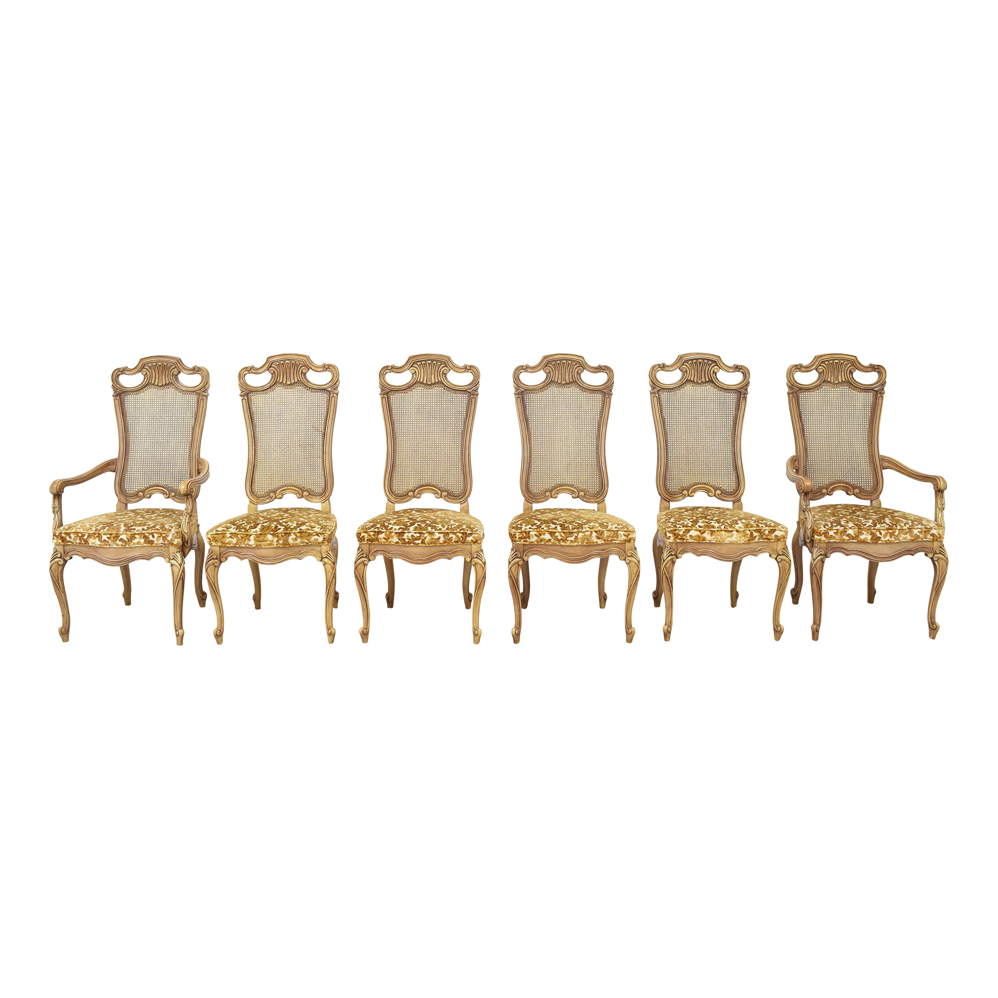 Union Furniture Company Union Furniture French Provincial Dining Chairs ma