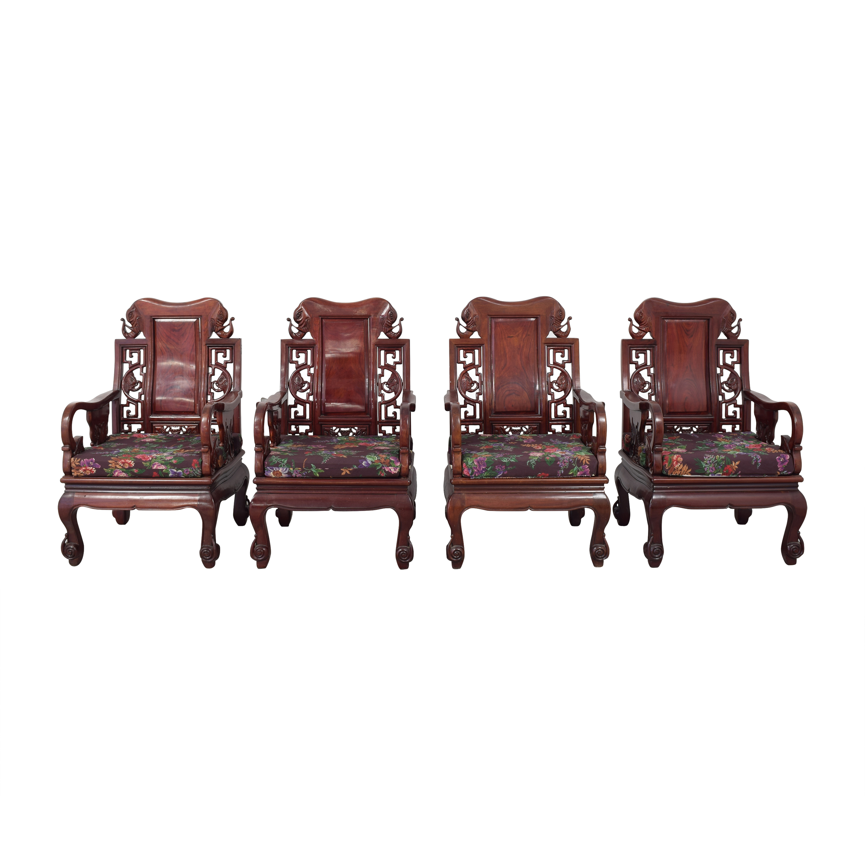 buy Chinoiserie Accent Chairs   Accent Chairs
