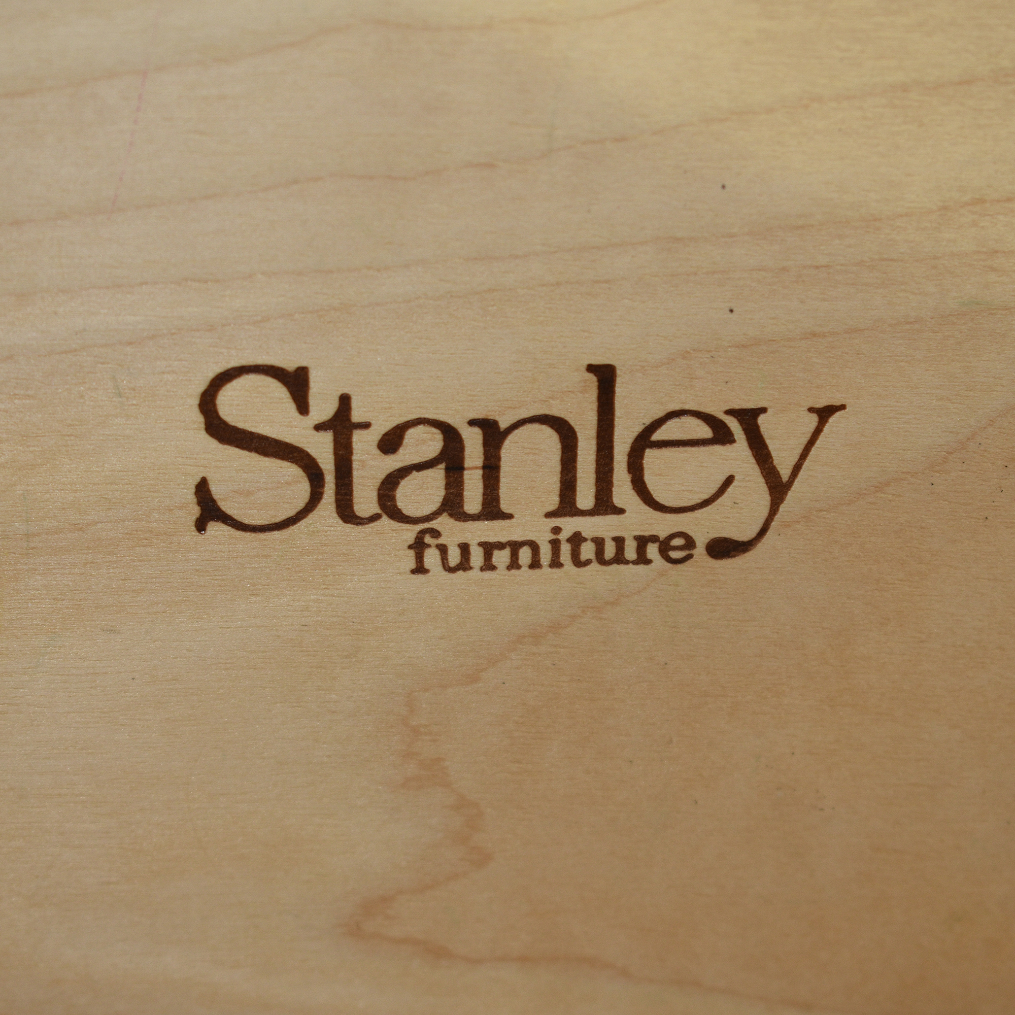 Stanley Furniture Stanley Furniture Distressed Two Drawer Nightstand Tables