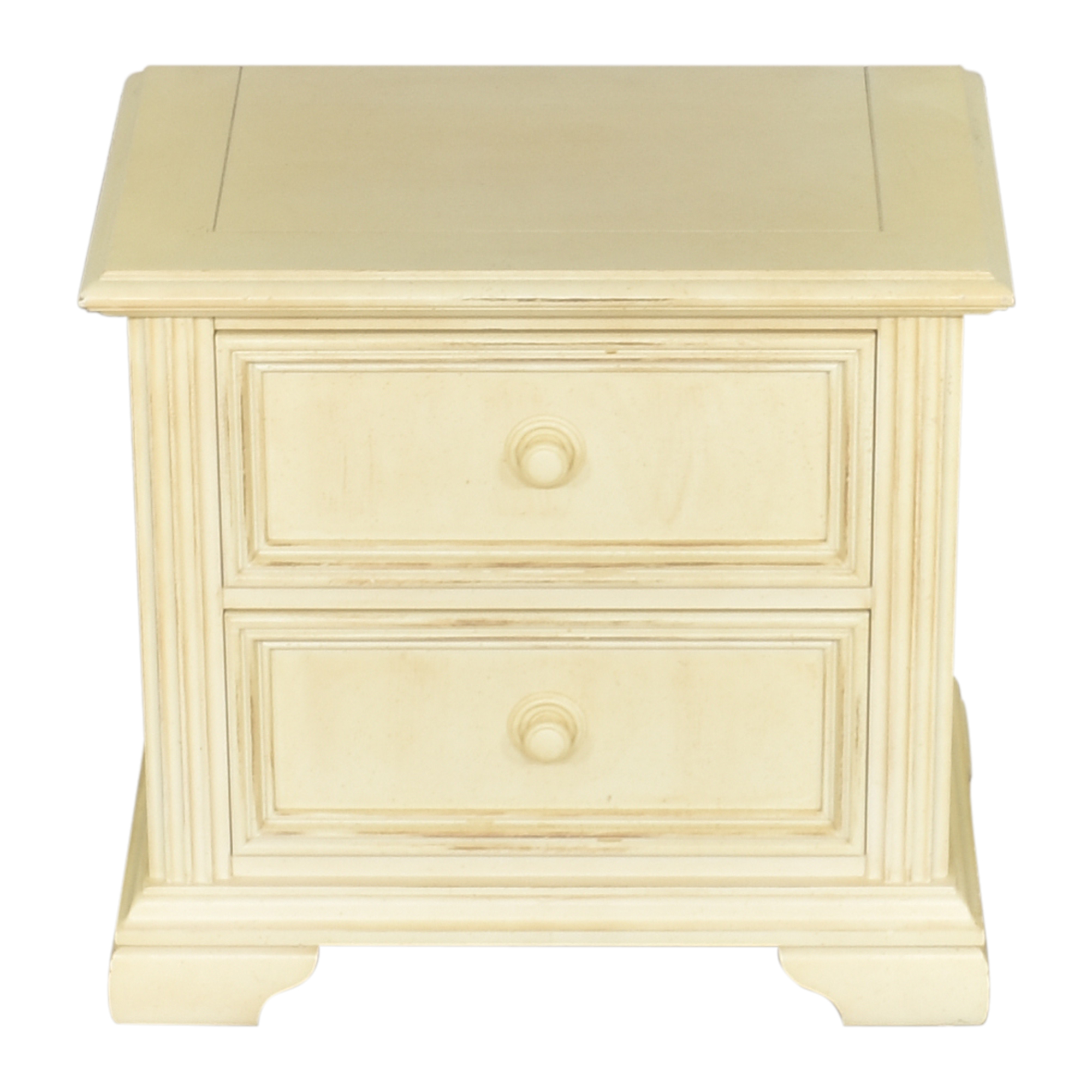 Stanley Furniture Stanley Furniture Distressed Two Drawer Nightstand nj