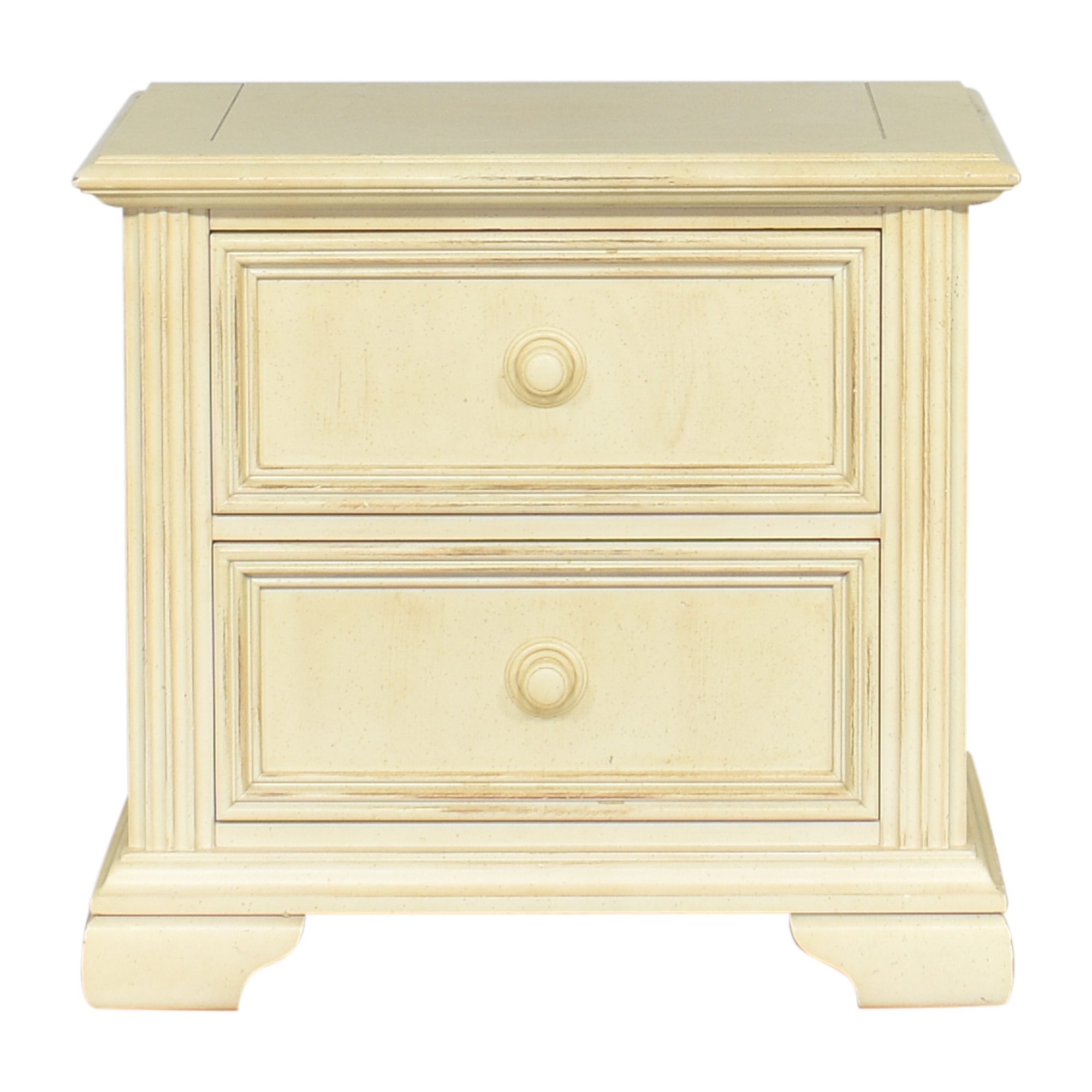 Stanley Furniture Stanley Furniture Distressed Two Drawer Nightstand pa