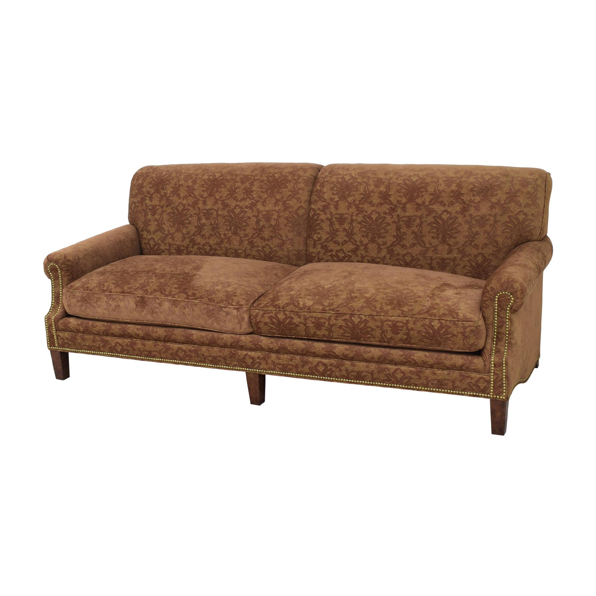 O. Henry House O. Henry House Garrett Sofa brown & gold