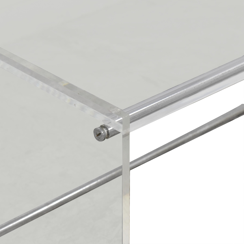 ABC Carpet & Home ABC Carpet & Home Transparent Coffee Table