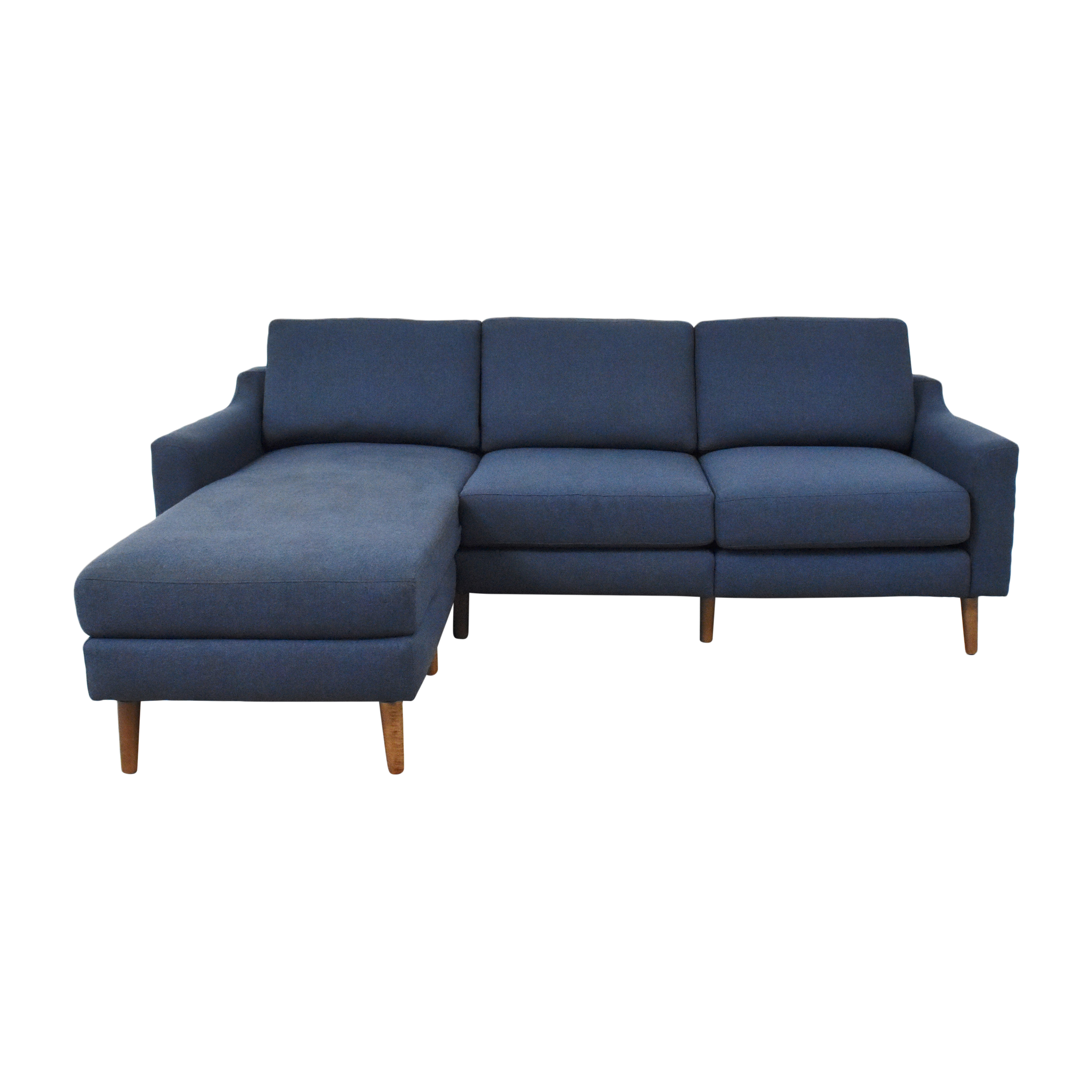 shop Burrow Slope Nomad Sofa Sectional Burrow Sectionals
