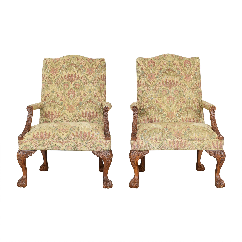 buy Sam Moore Tibetan Tapestry Arm Chairs Sam Moore Chairs